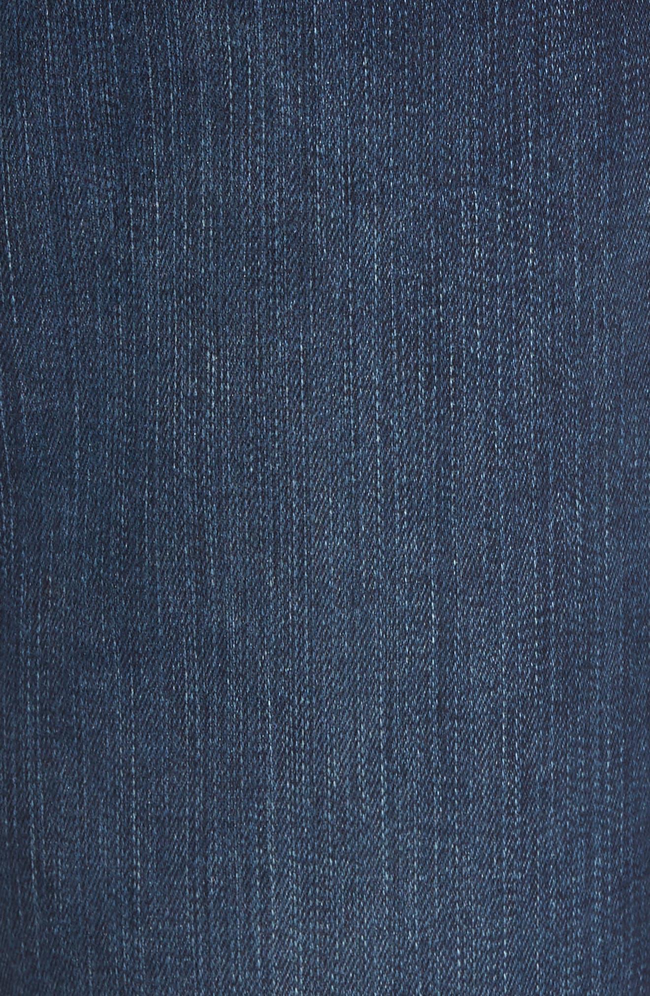 Transcend - Federal Slim Straight Leg Jeans,                             Alternate thumbnail 5, color,                             Graham