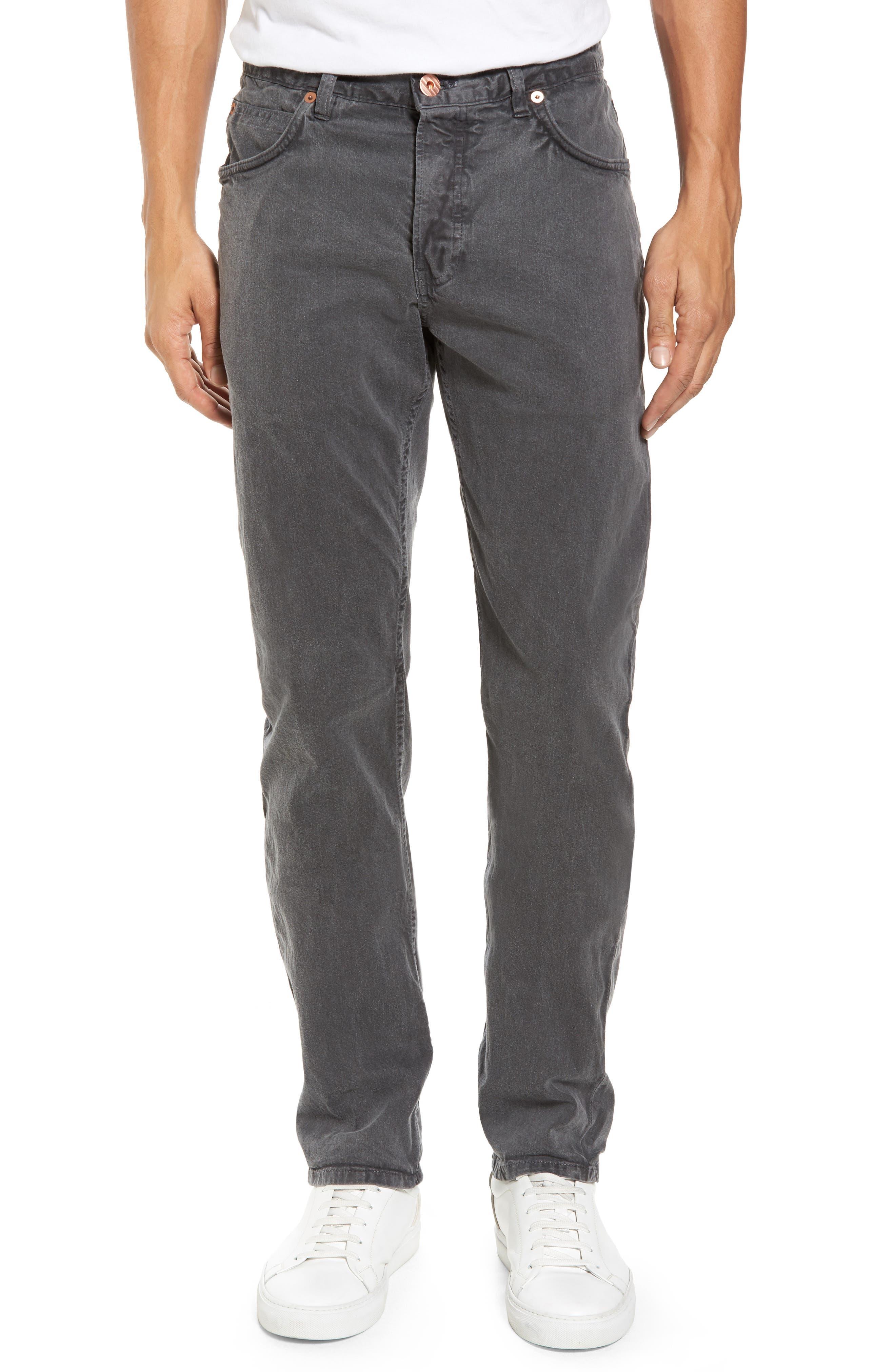Main Image - Billy Reid Slim Fit Selvedge Jeans