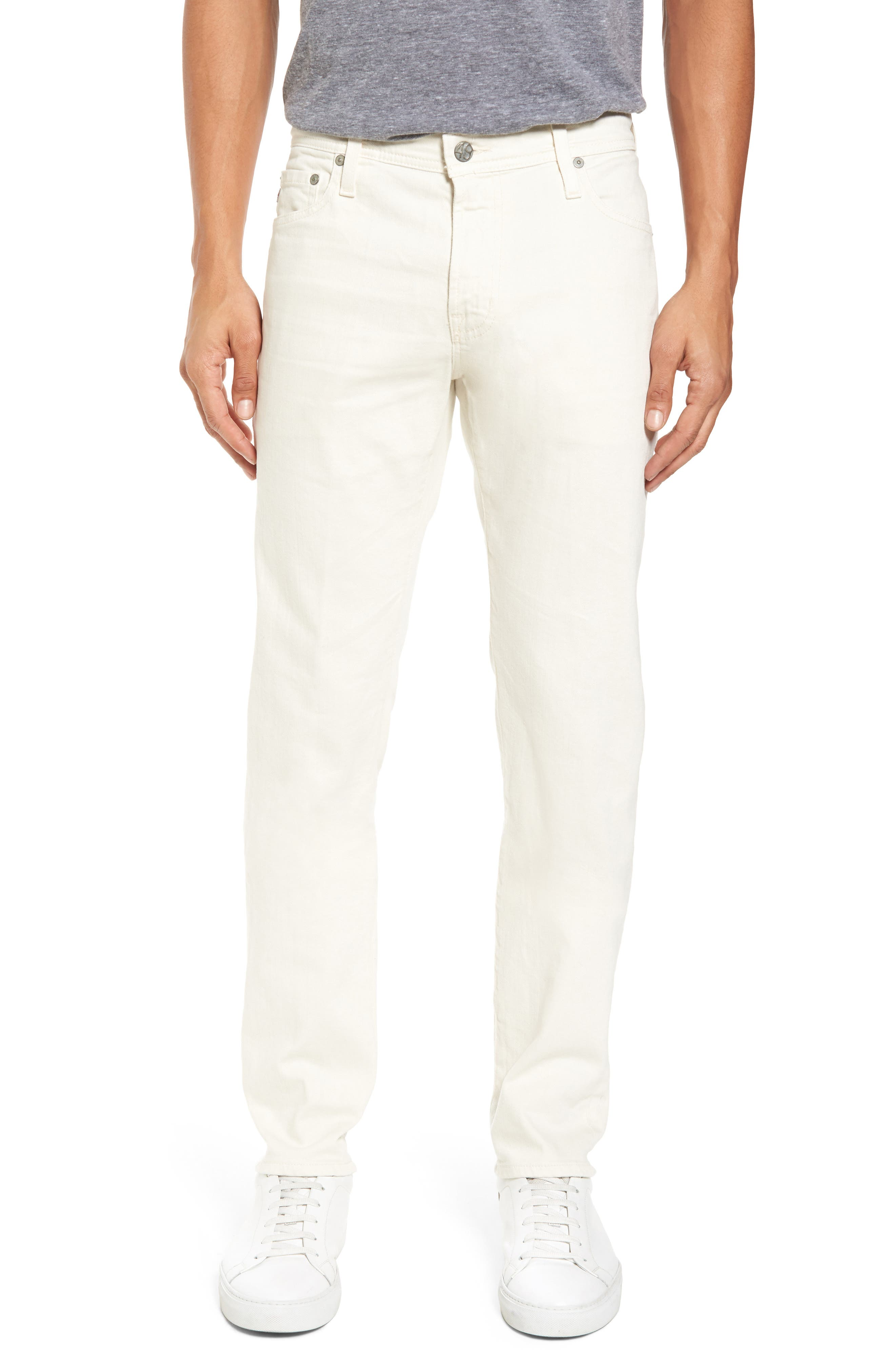 Tellis Modern Slim Twill Pants,                         Main,                         color, 1 Year Moon Glade