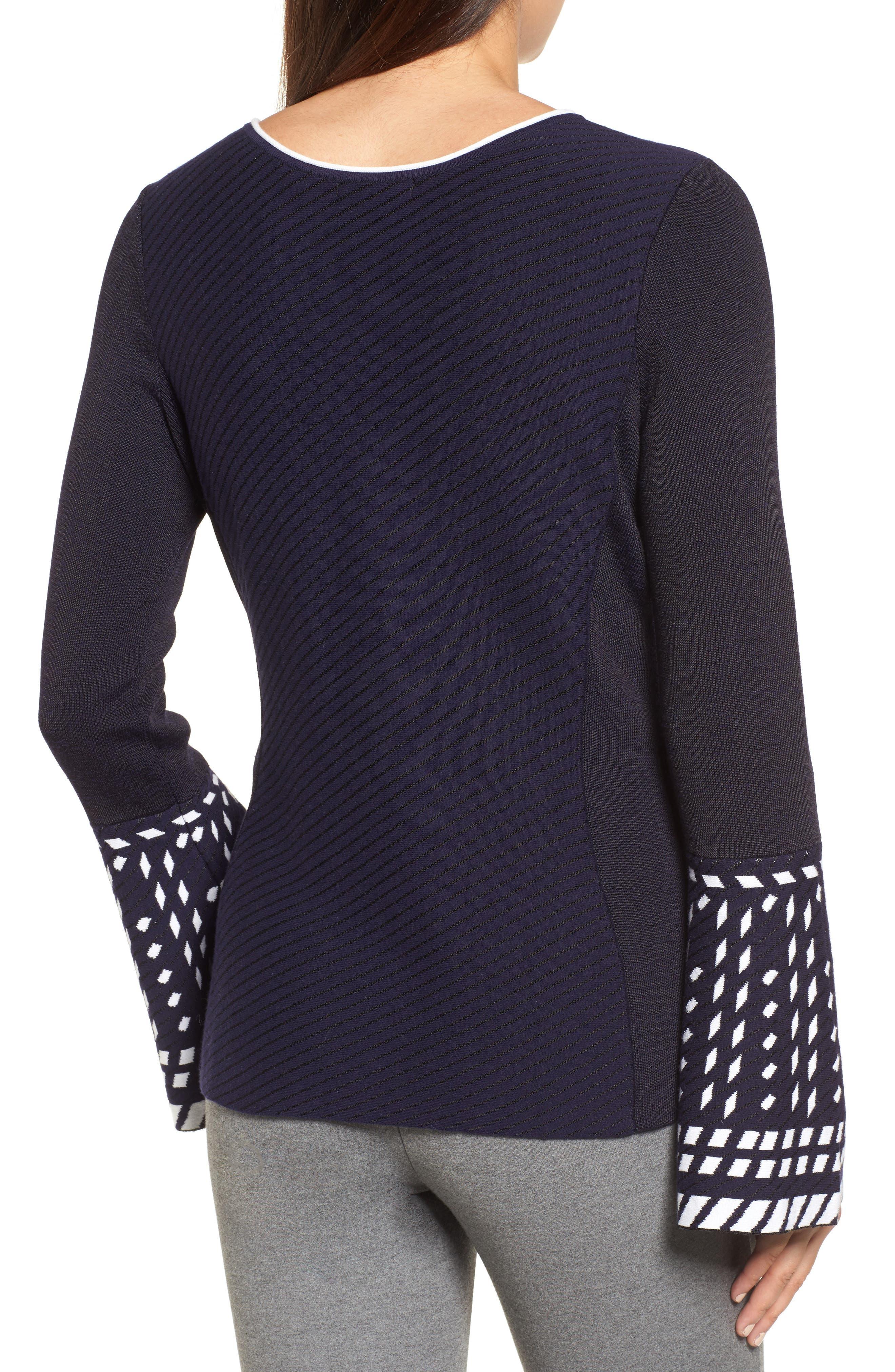 Alternate Image 3  - NIC+ZOE Falling Star Sweater (Regular & Petite)