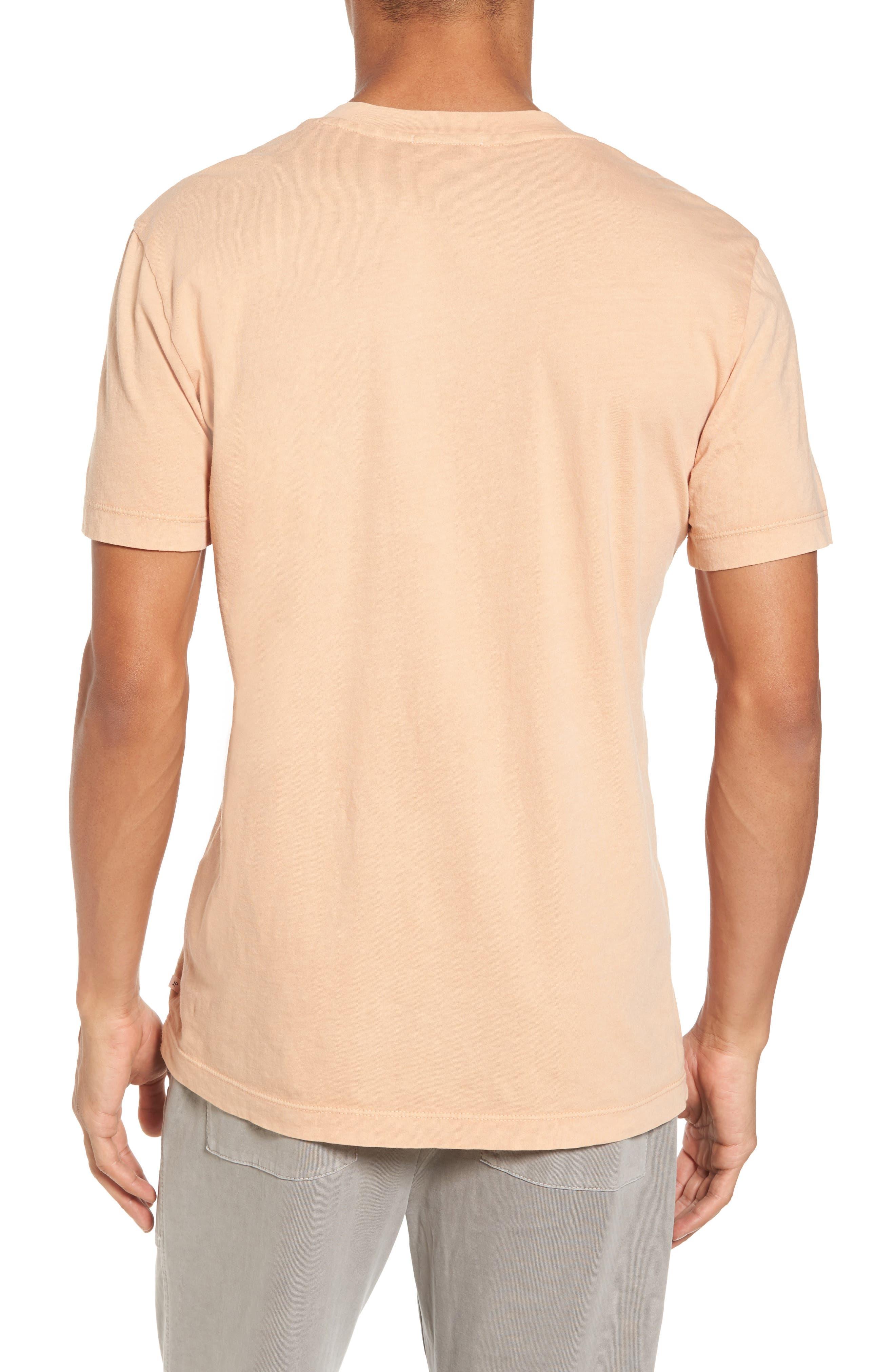 Alternate Image 2  - James Perse Short Sleeve V-Neck T-Shirt
