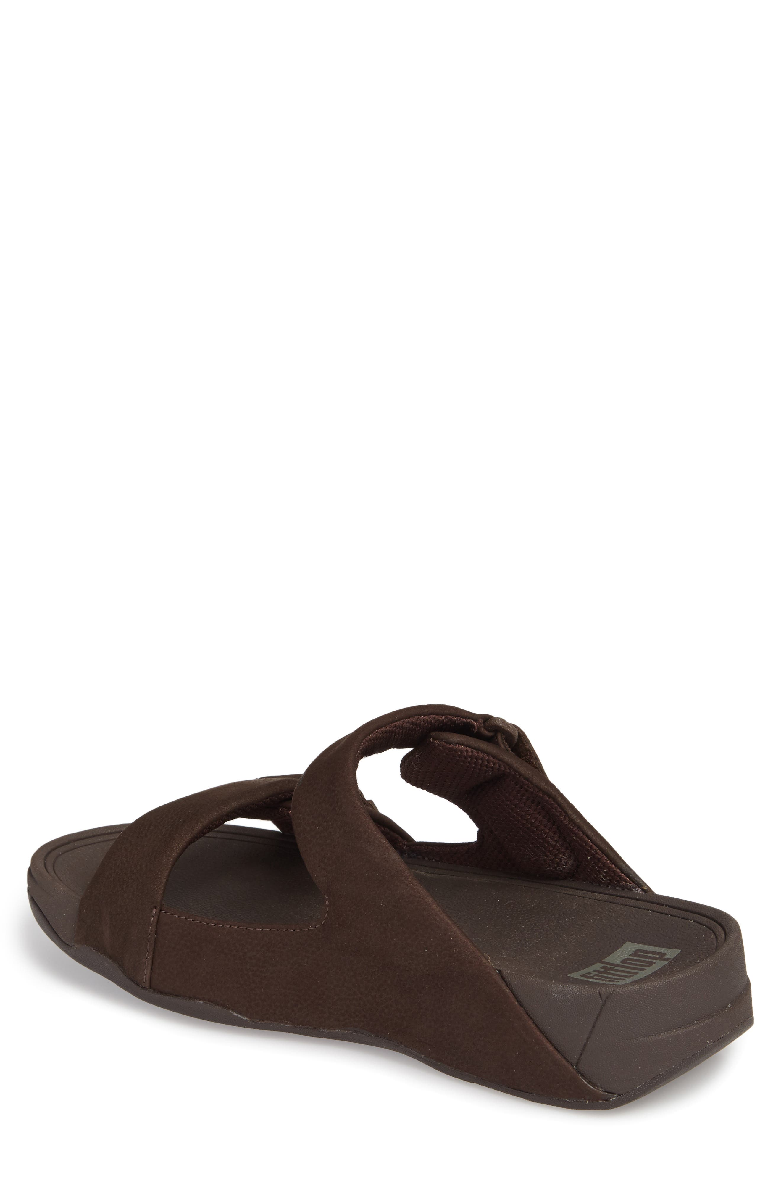 Gogh Sport Slide Sandal,                             Alternate thumbnail 2, color,                             Chocolate Brown