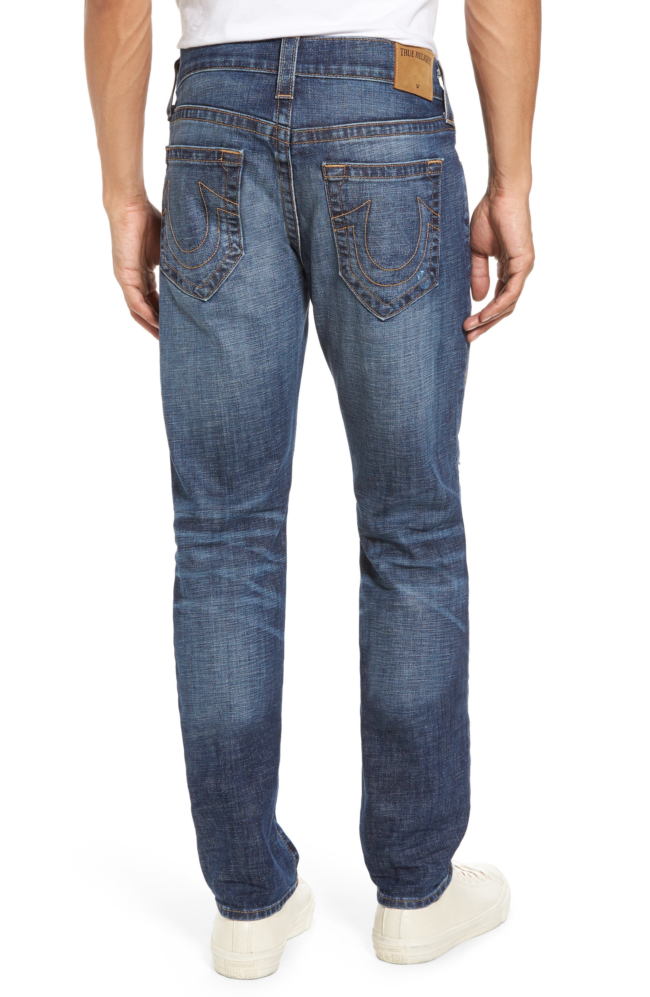 Rocco Skinny Fit Jeans,                             Alternate thumbnail 2, color,                             Dark Wash