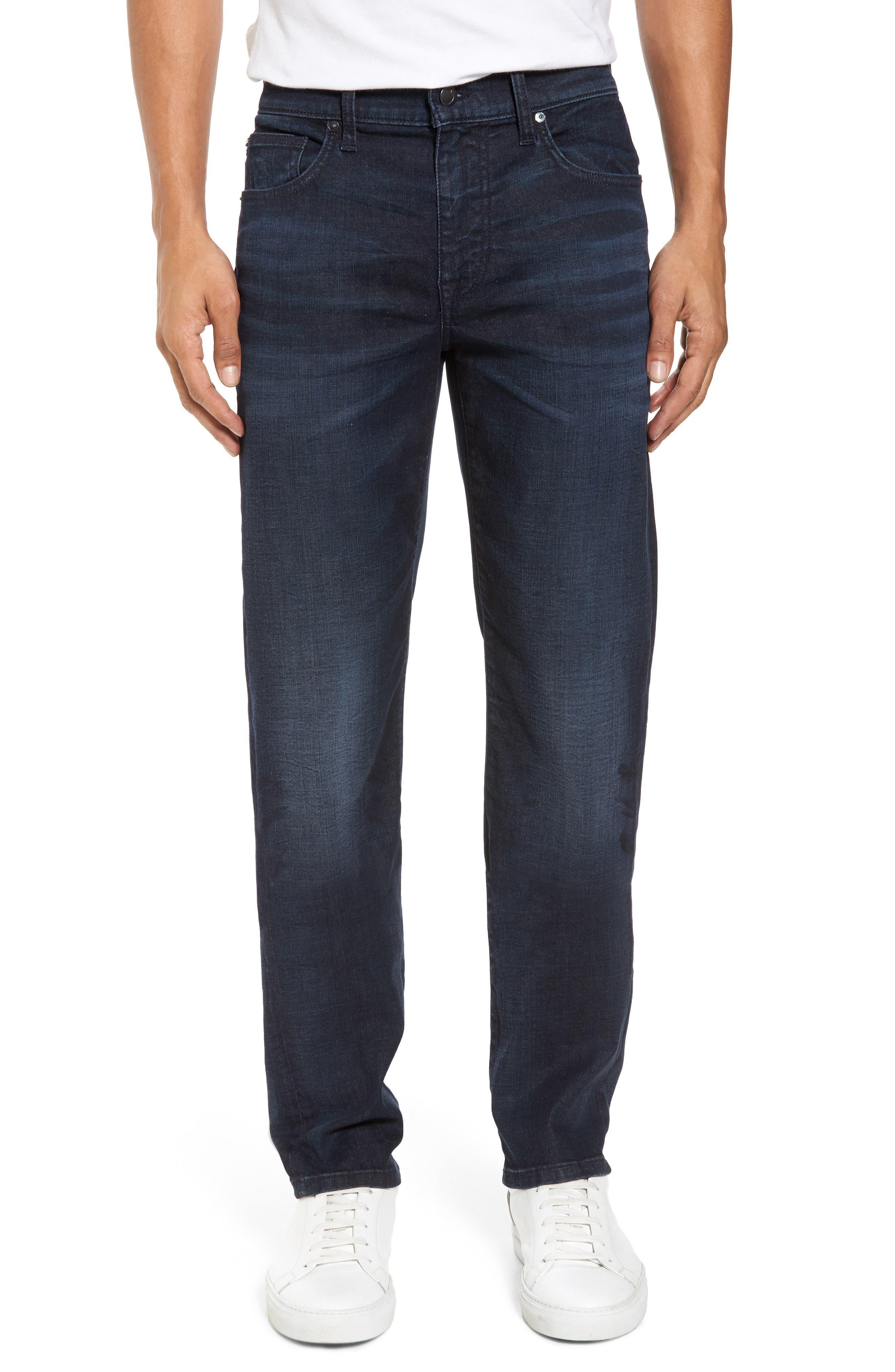 Brixton Slim Straight Leg Jeans,                             Main thumbnail 1, color,                             Larsen