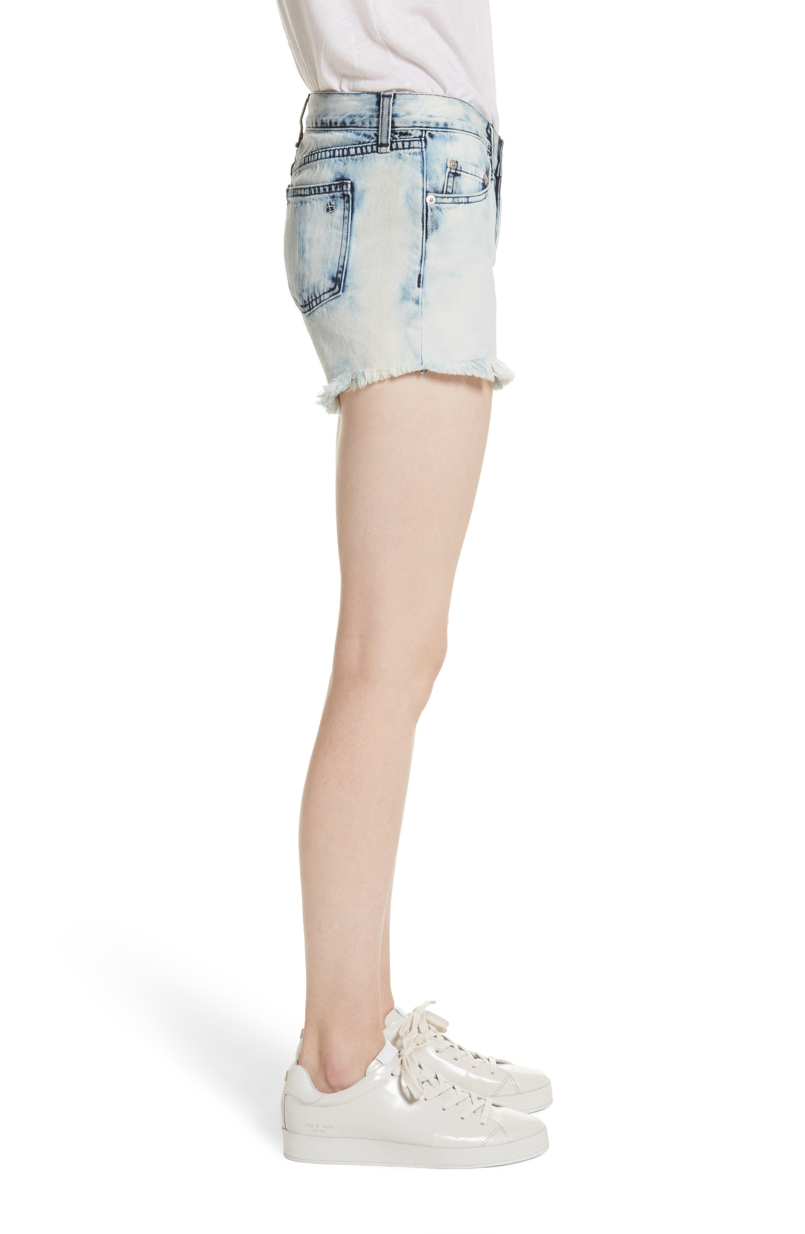 Alternate Image 3  - rag & bone/JEAN Cutoff Denim Shorts (Bleach)