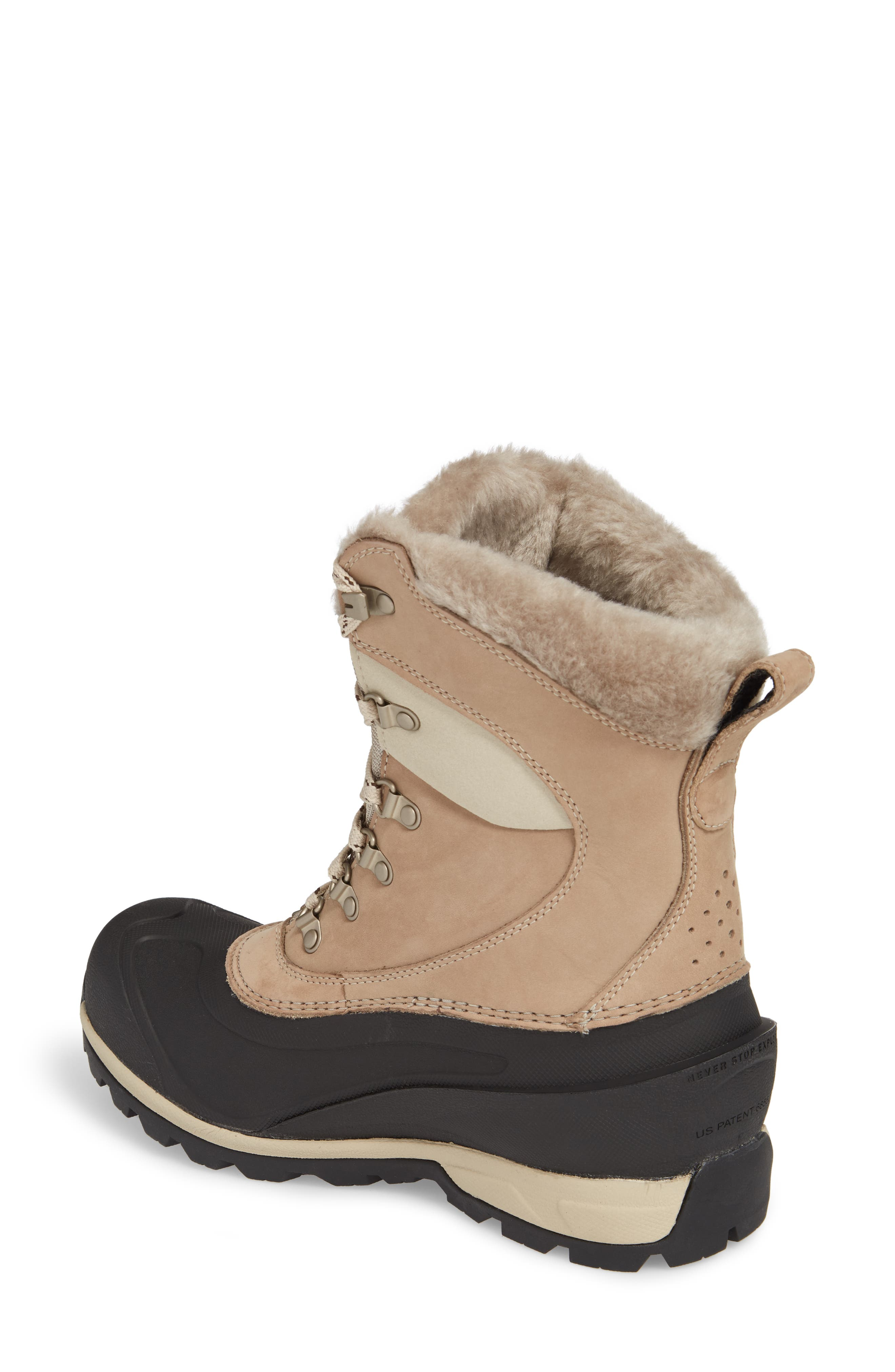 'Chilkat 400' Waterproof PrimaLoft<sup>®</sup> Insulated Boot,                             Alternate thumbnail 2, color,                             Simply Taupe Brown