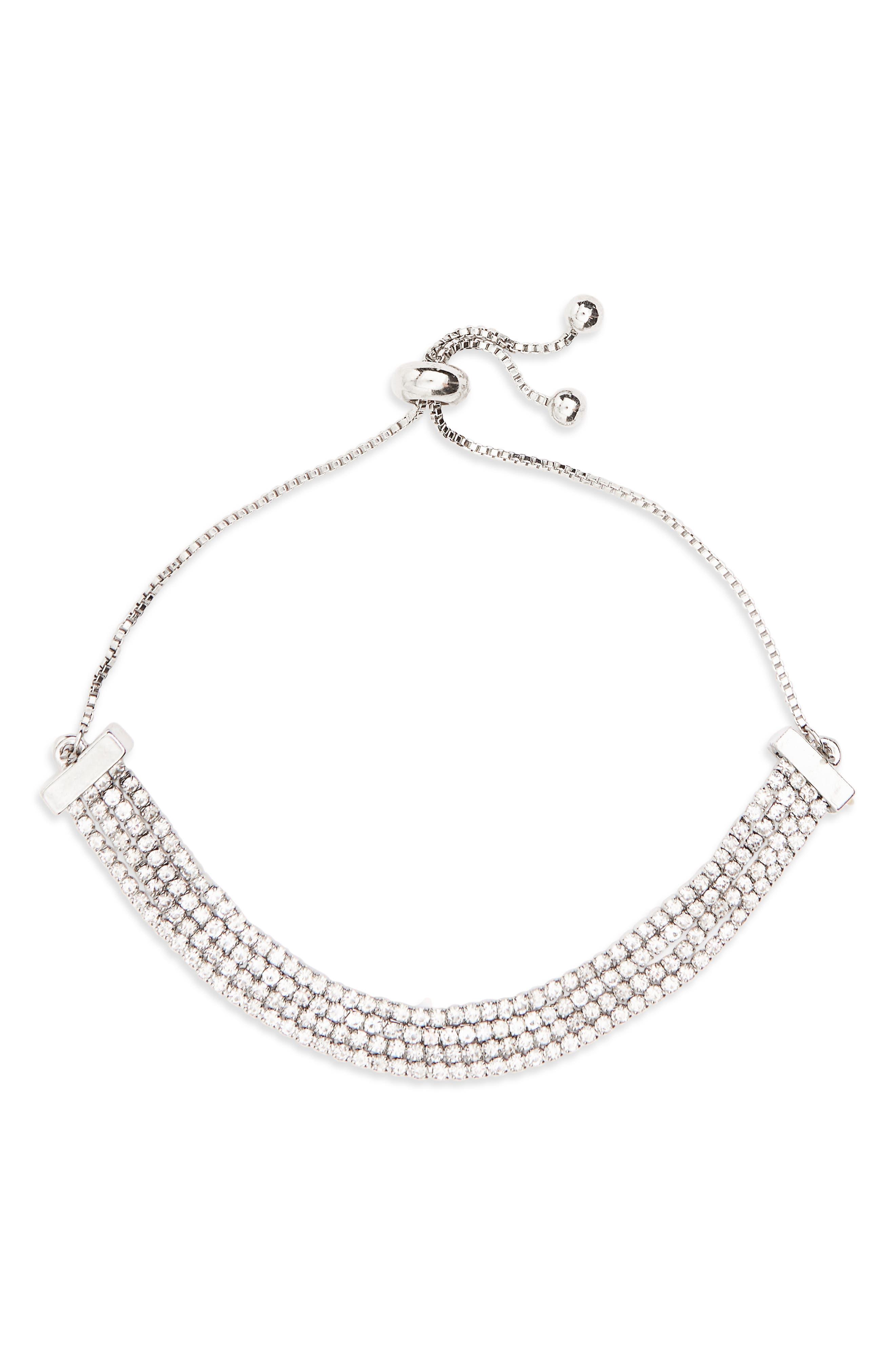 Topshop Adjustable Cupchain Bracelet
