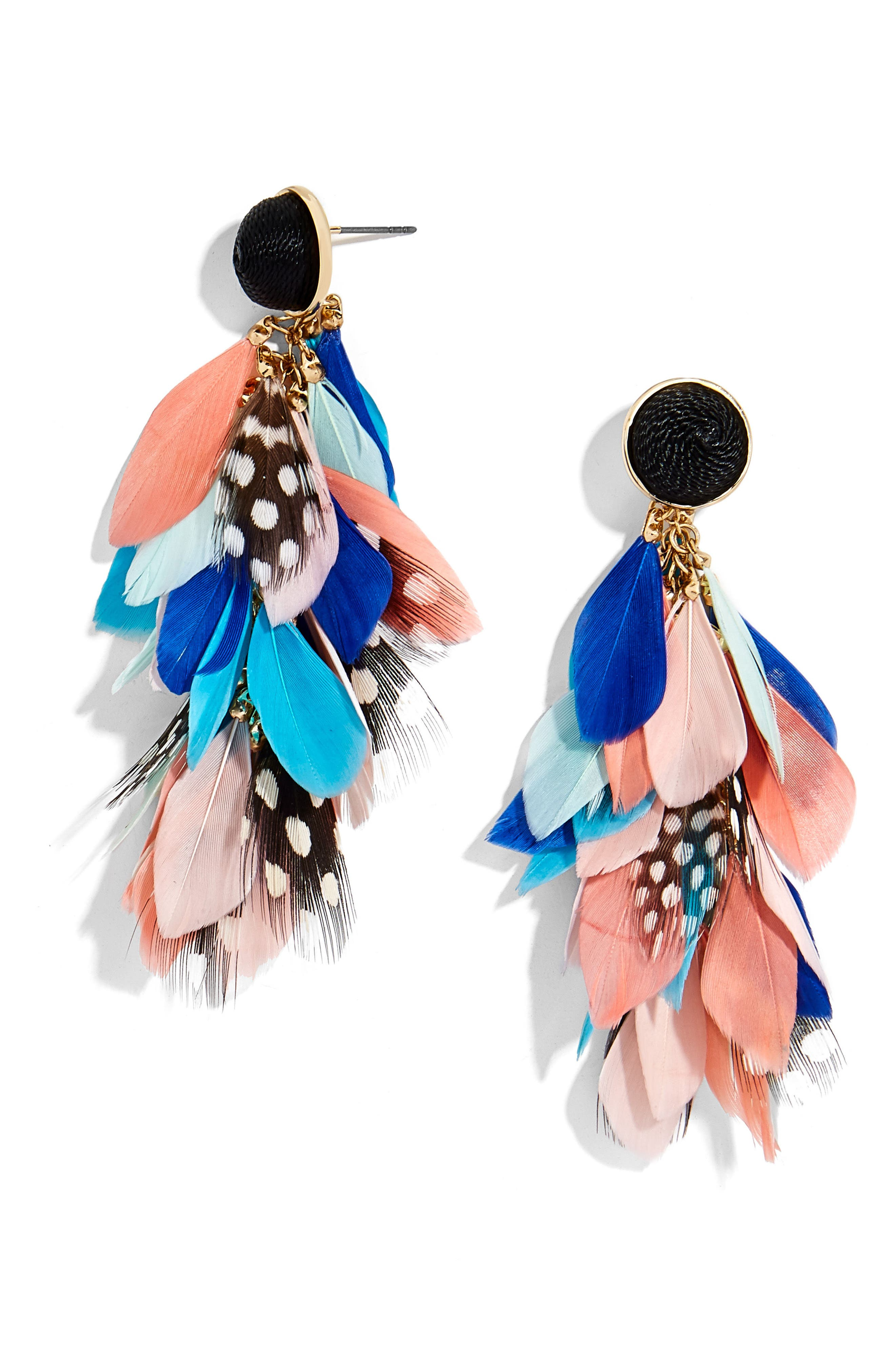 Mottled Drop Earrings,                         Main,                         color, Multi