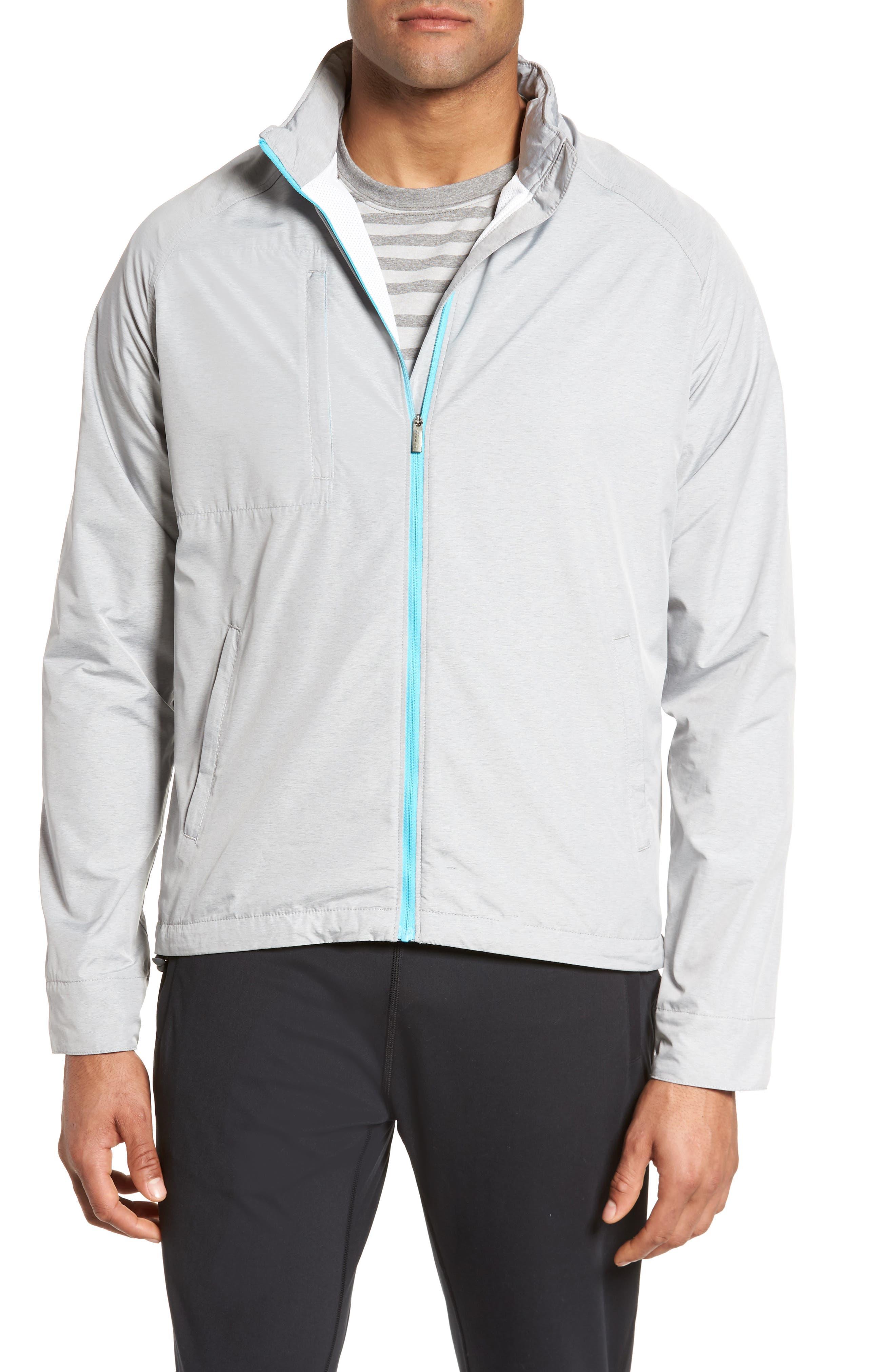Nagano Windbreaker Jacket,                             Main thumbnail 1, color,                             British Grey
