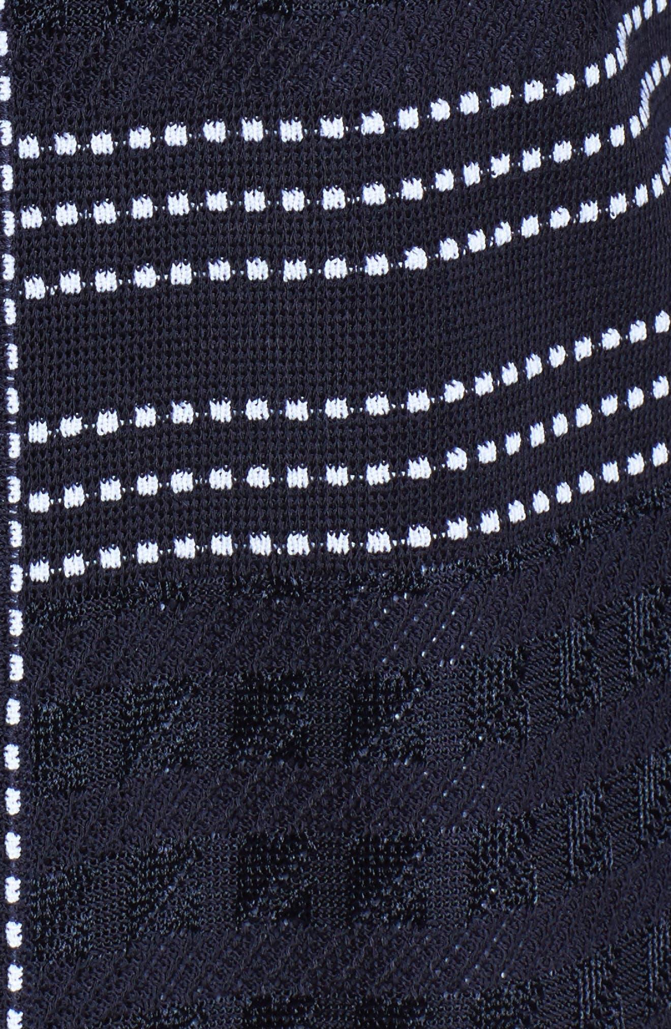 Alternate Image 5  - Ming Wang Front Zip Jacquard Jacket
