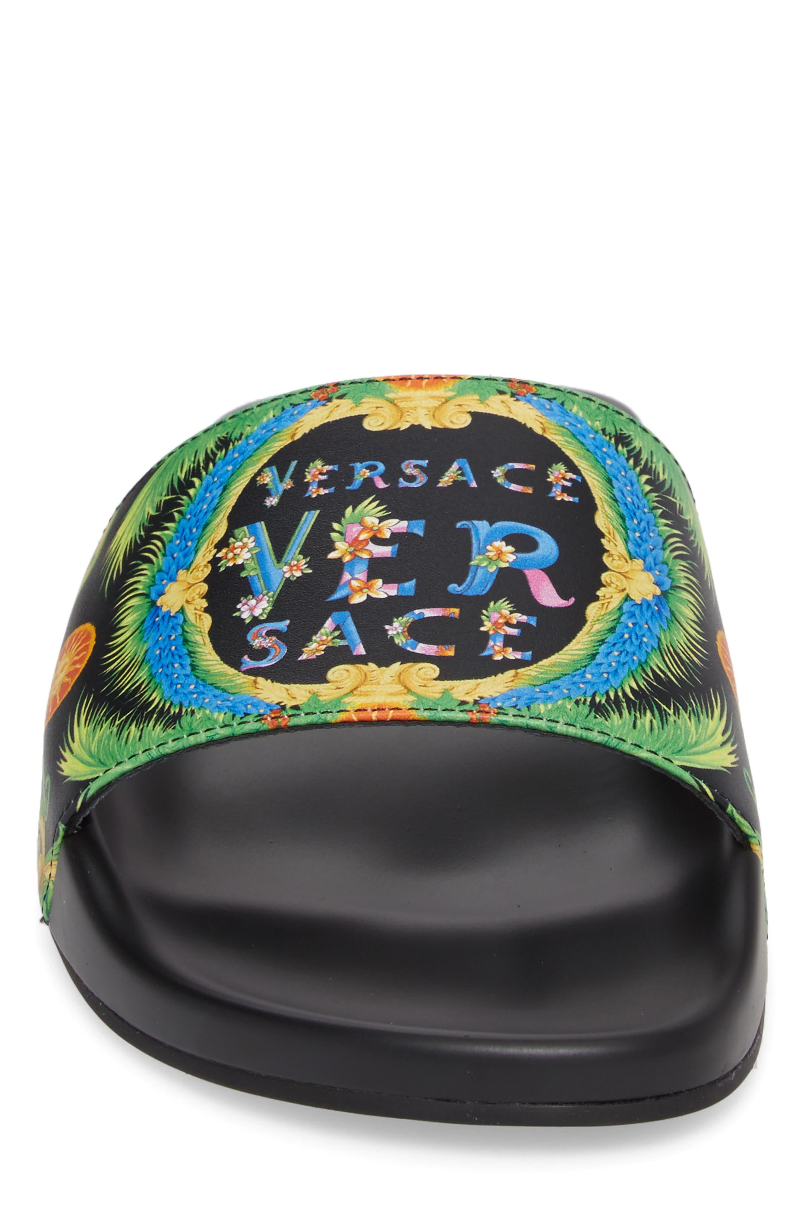 Alternate Image 5  - Versace First Line Miami Slide Sandal (Men)
