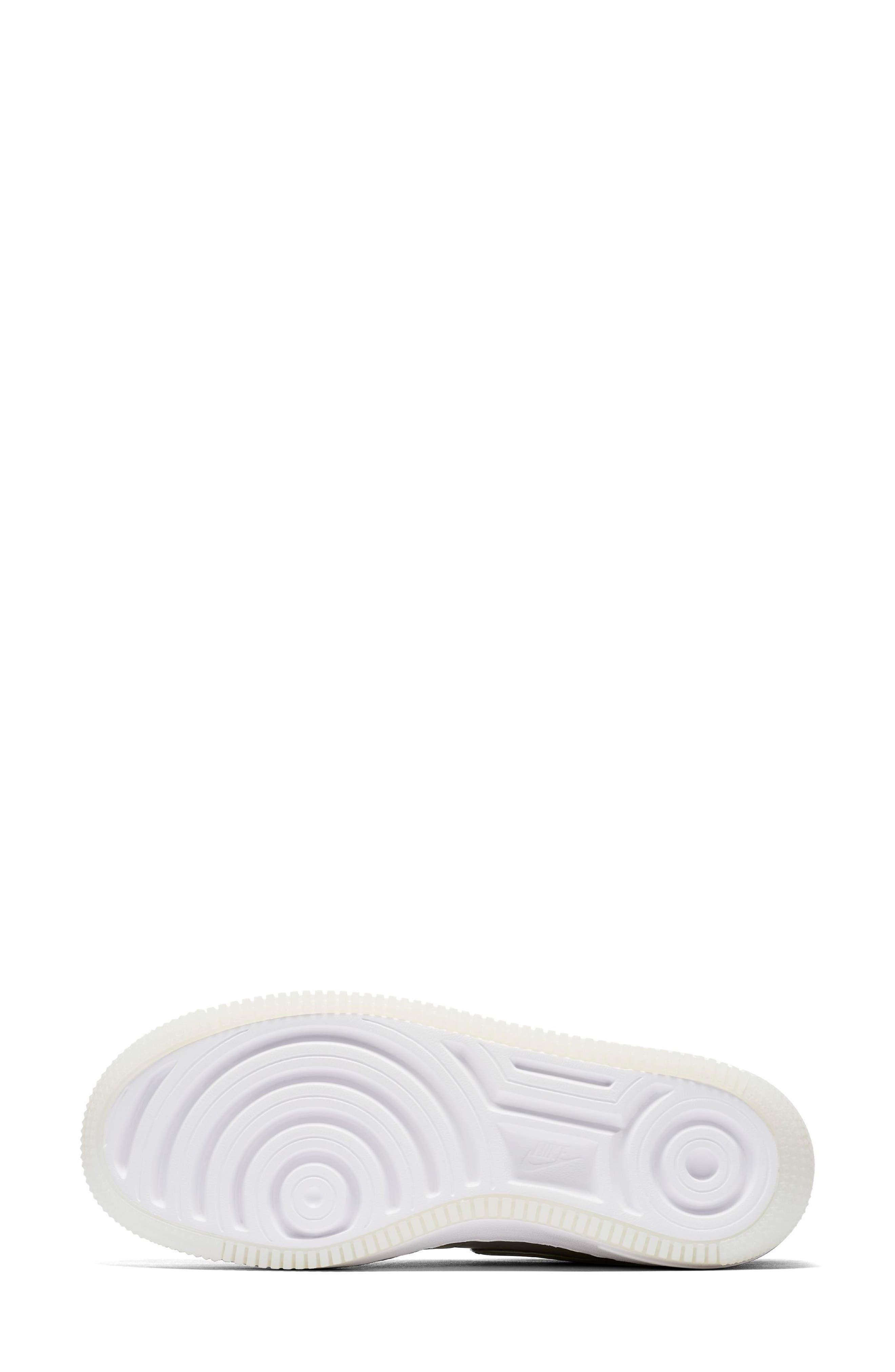 Air Force 1 Upstep Premium LX Shoe,                             Alternate thumbnail 7, color,                             Dark Stucco/ Stucco/ White