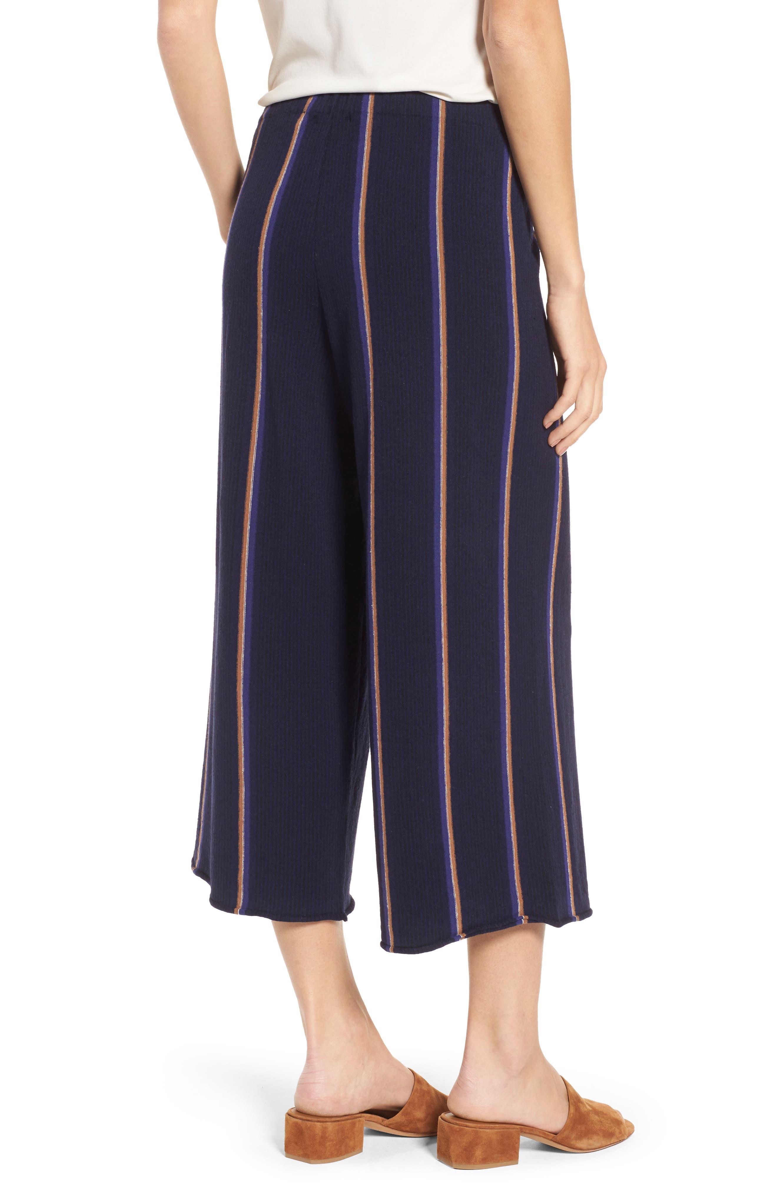 Lined Up Knit Pants,                             Alternate thumbnail 2, color,                             Blue Multi
