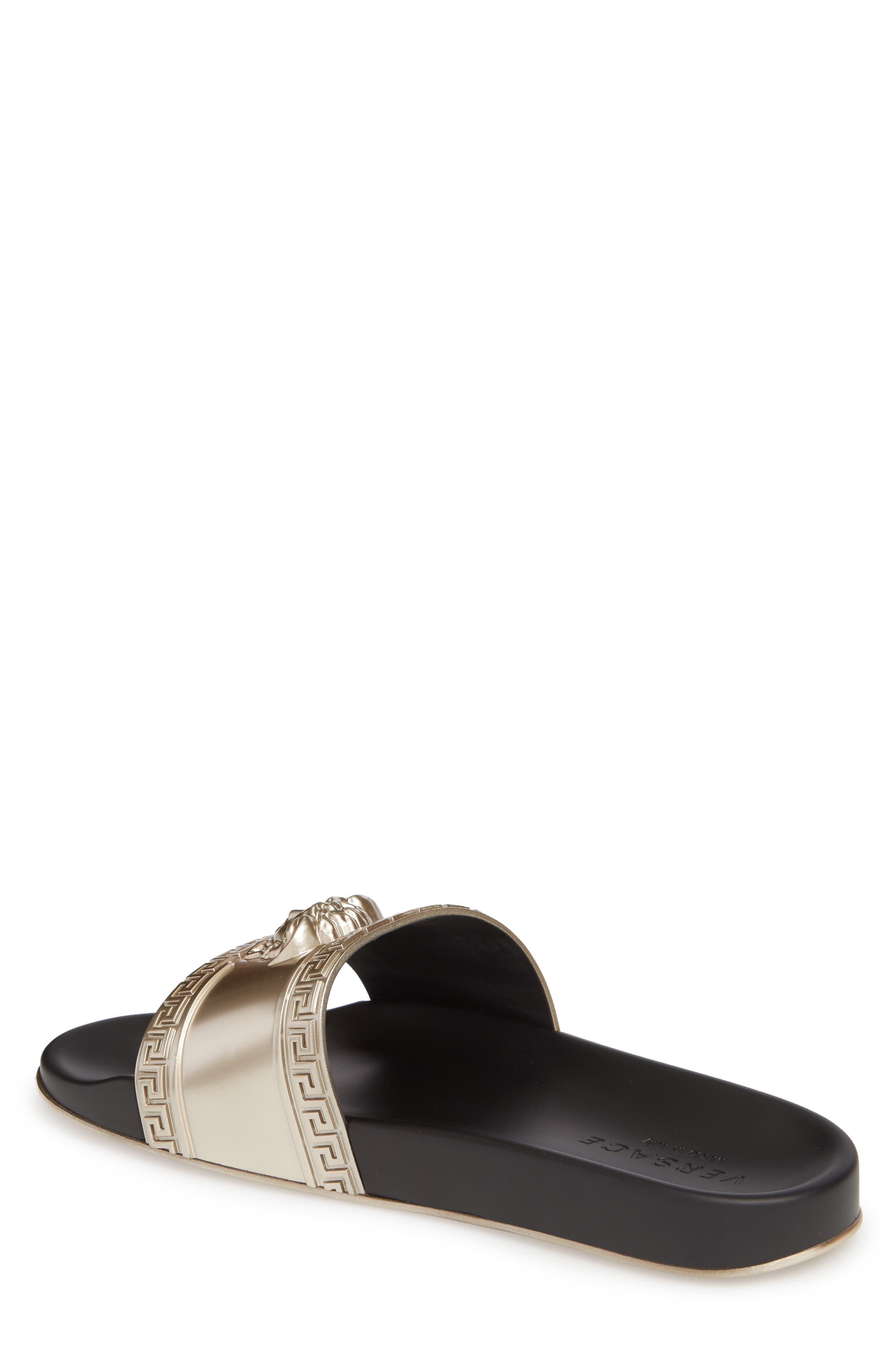 Alternate Image 2  - Versace Palazzo Medusa Slide Sandal (Men)
