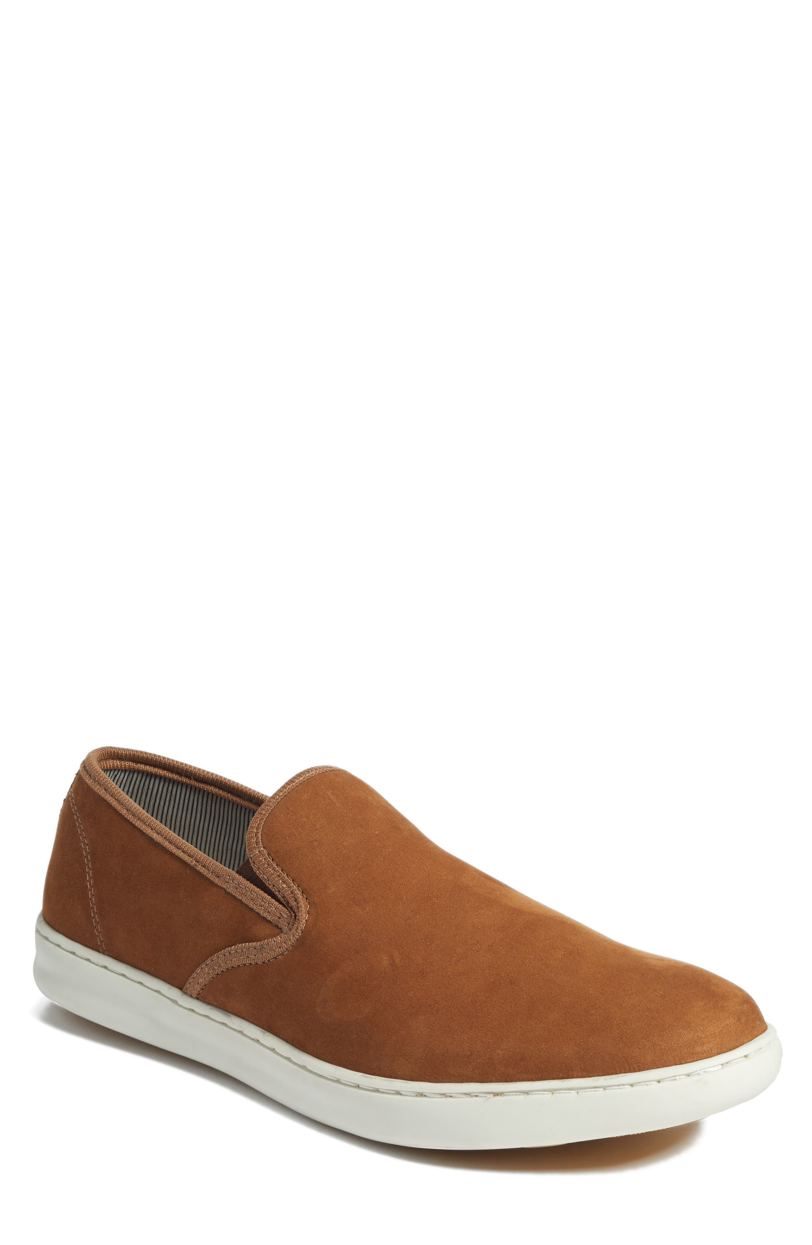 Malibu Slip-on,                             Main thumbnail 1, color,                             Tan Nubuck