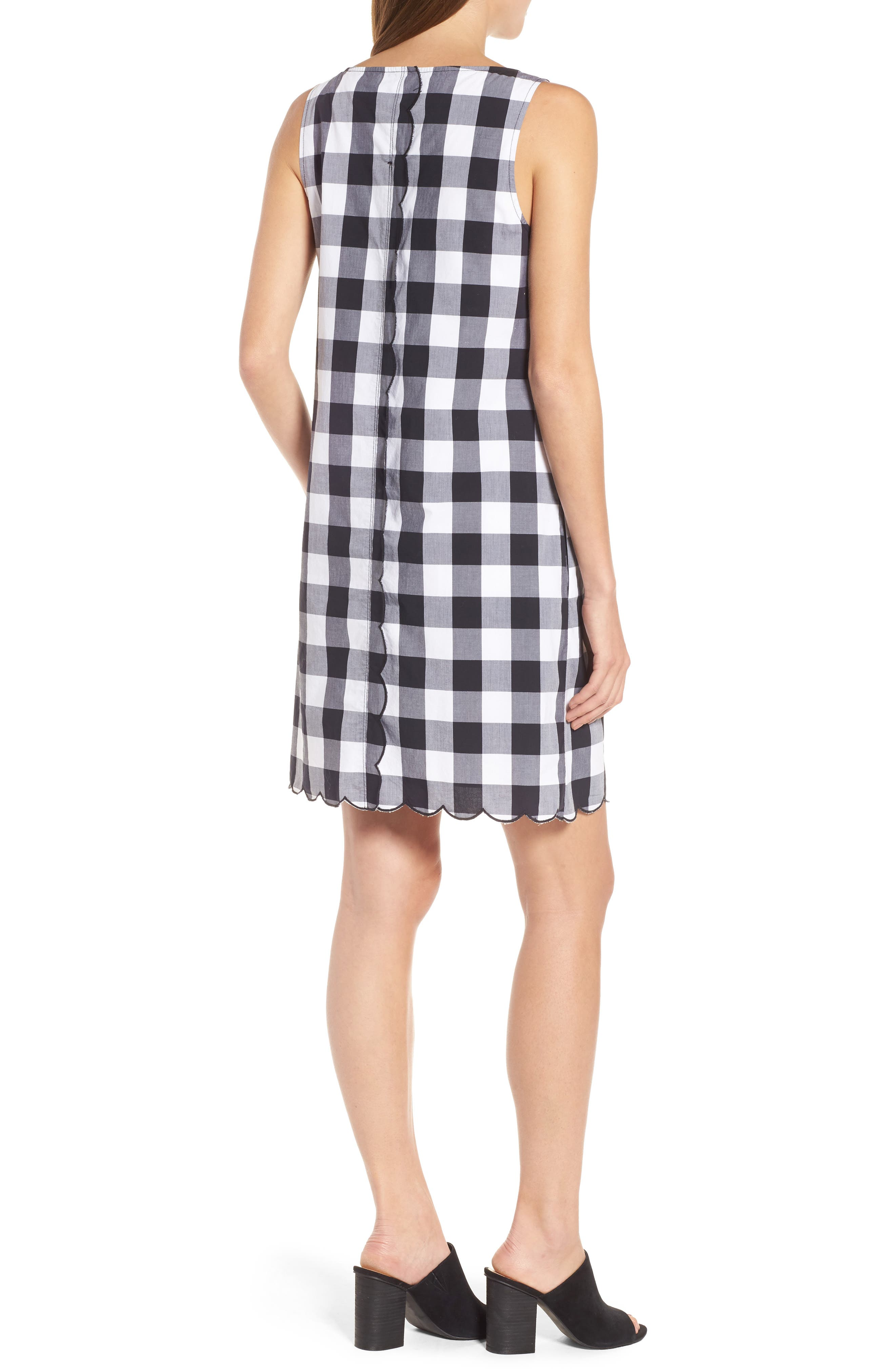 Alternate Image 2  - Tommy Bahama Gingham Gables Shift Dress