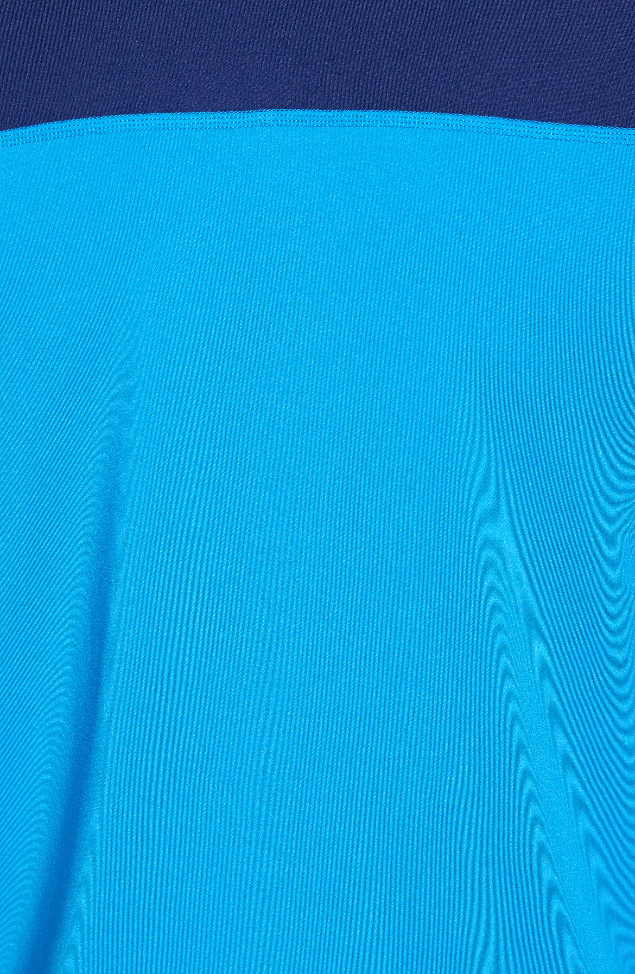 Flagler Pier Half Zip Pullover,                             Alternate thumbnail 5, color,                             Blue Canal