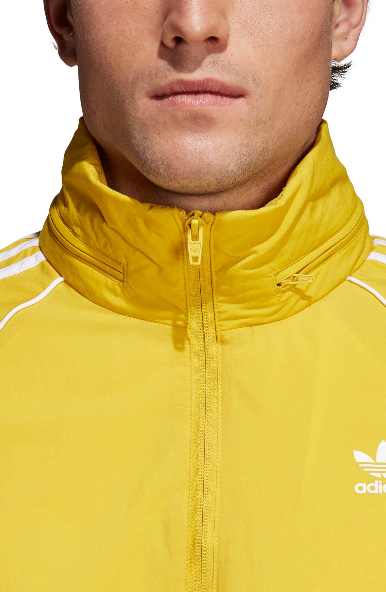 SST Windbreaker,                             Alternate thumbnail 4, color,                             Tribe Yellow