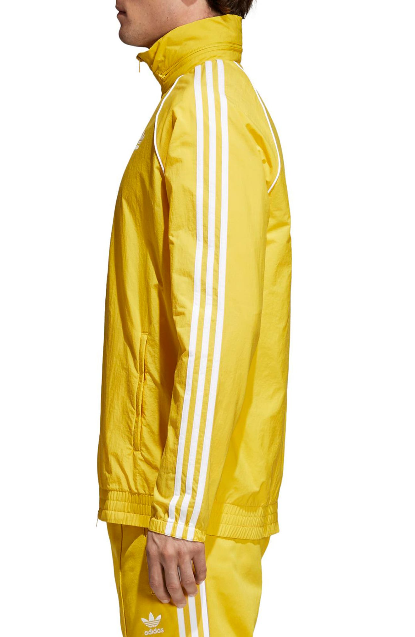SST Windbreaker,                             Alternate thumbnail 3, color,                             Tribe Yellow