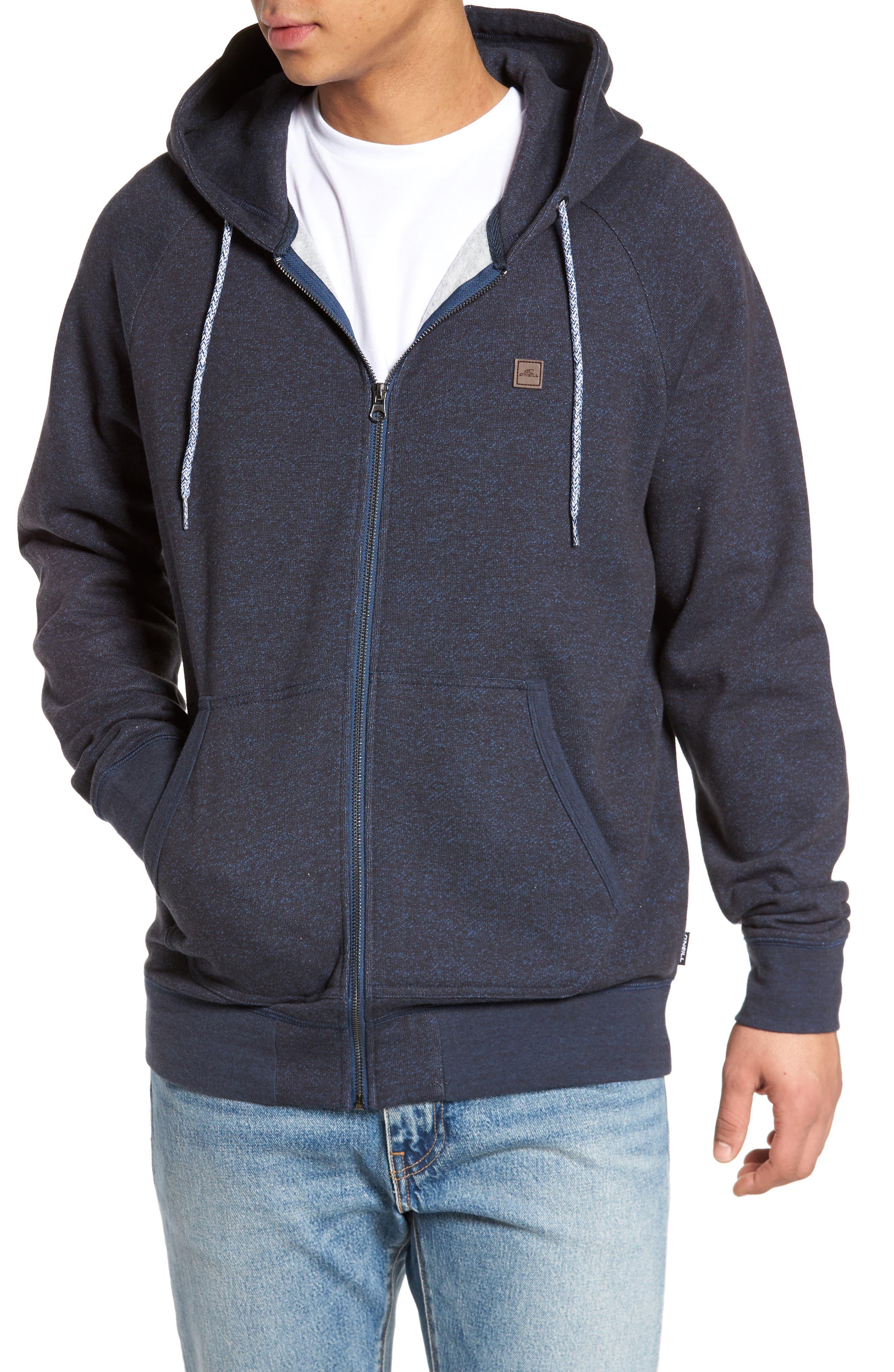 The Standard Zip Hoodie,                         Main,                         color, Ocean