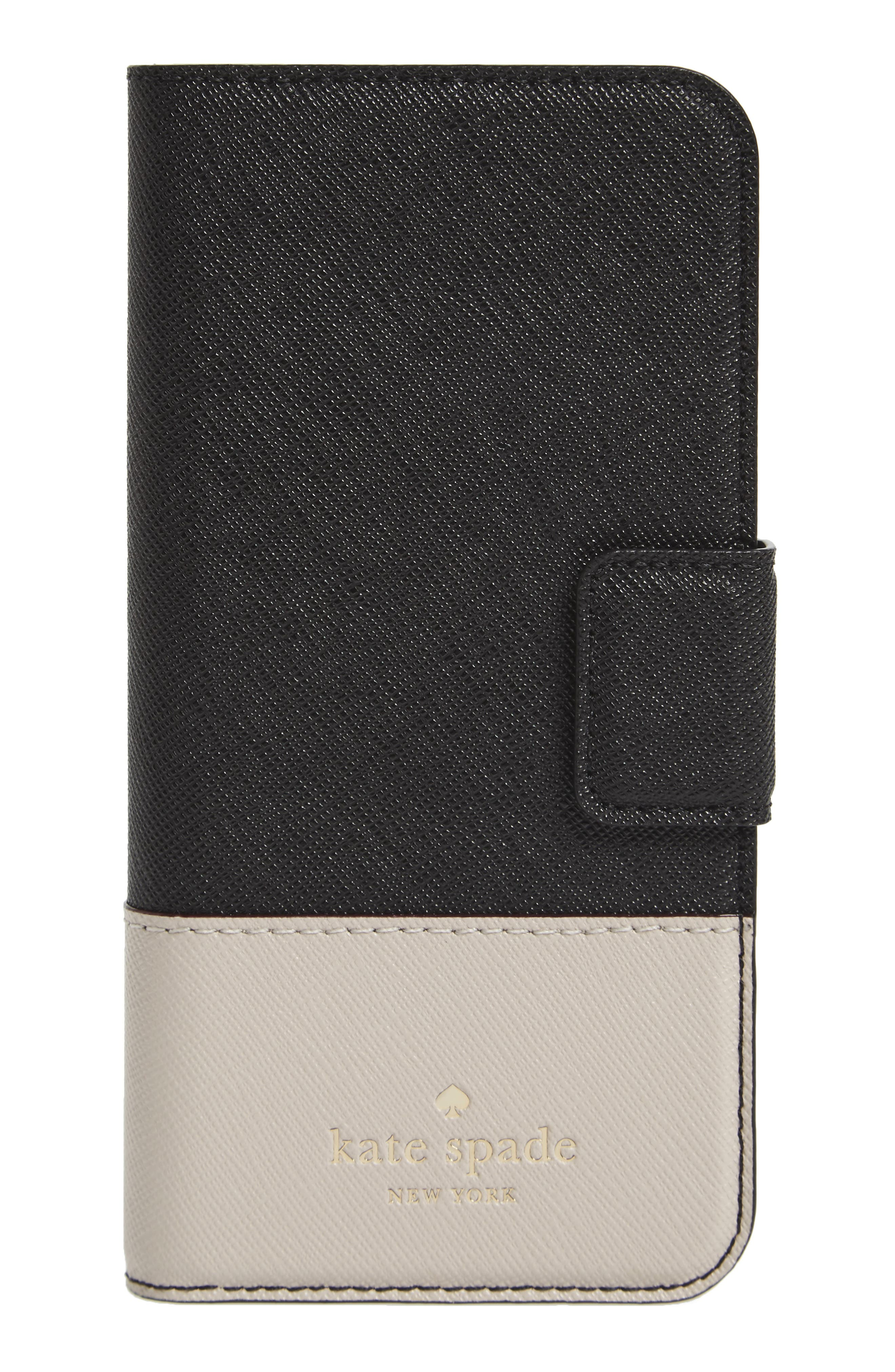 kate spade new york leather iPhone 7/8 & 7/8 Plus case
