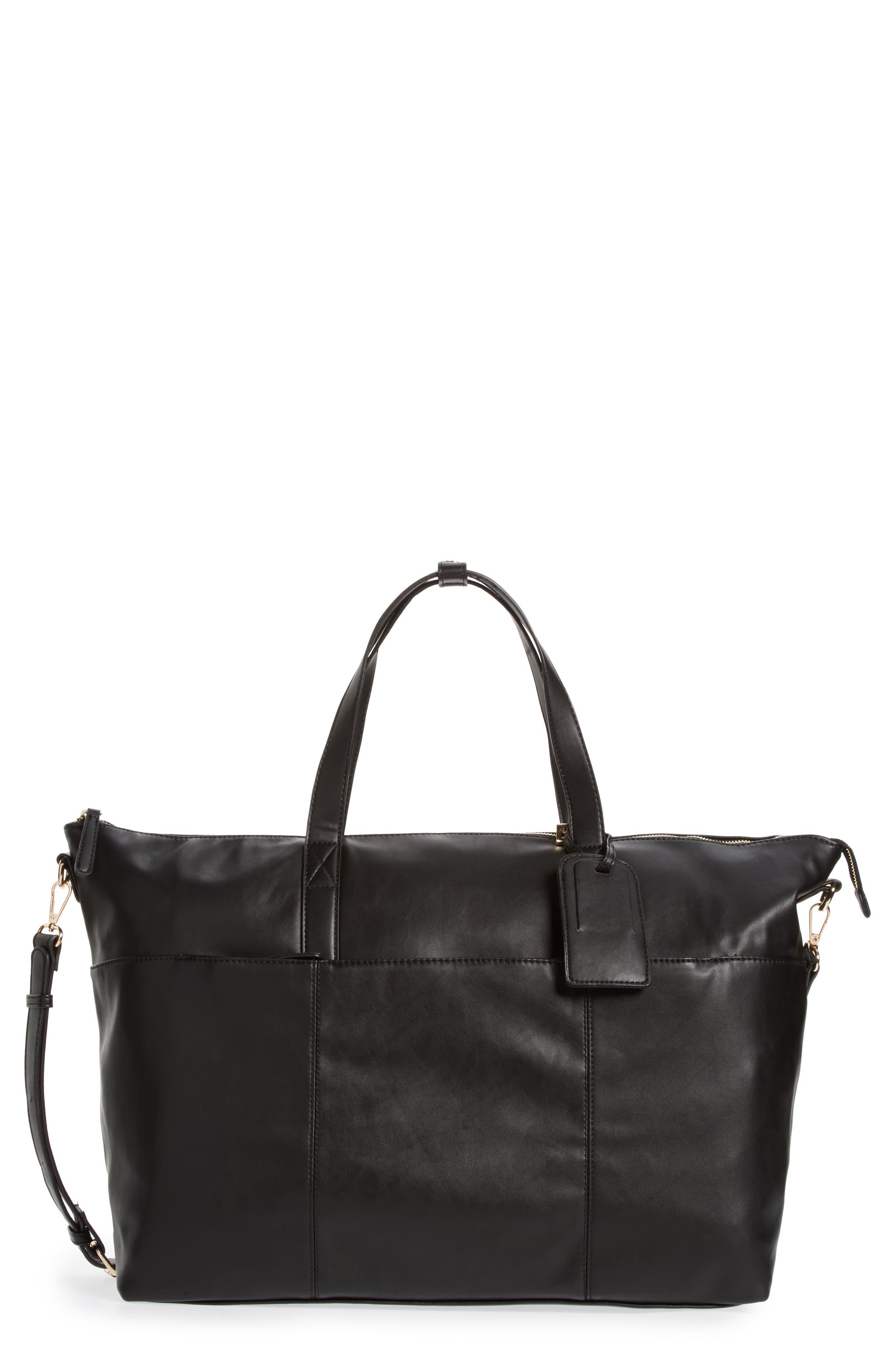 Kelis Duffel Bag,                             Main thumbnail 1, color,                             Black