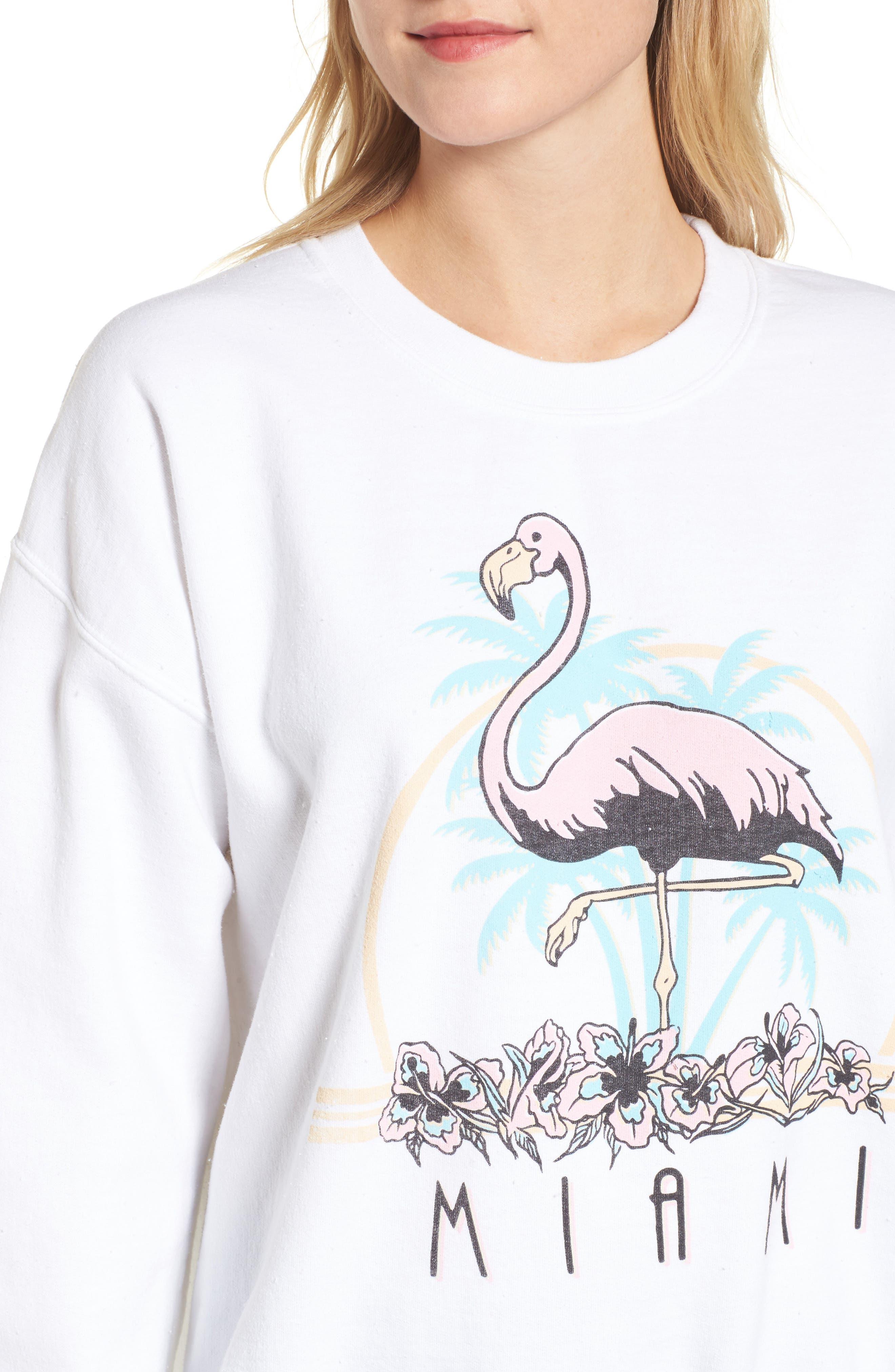 Alternate Image 4  - Junk Food Miami Sweatshirt