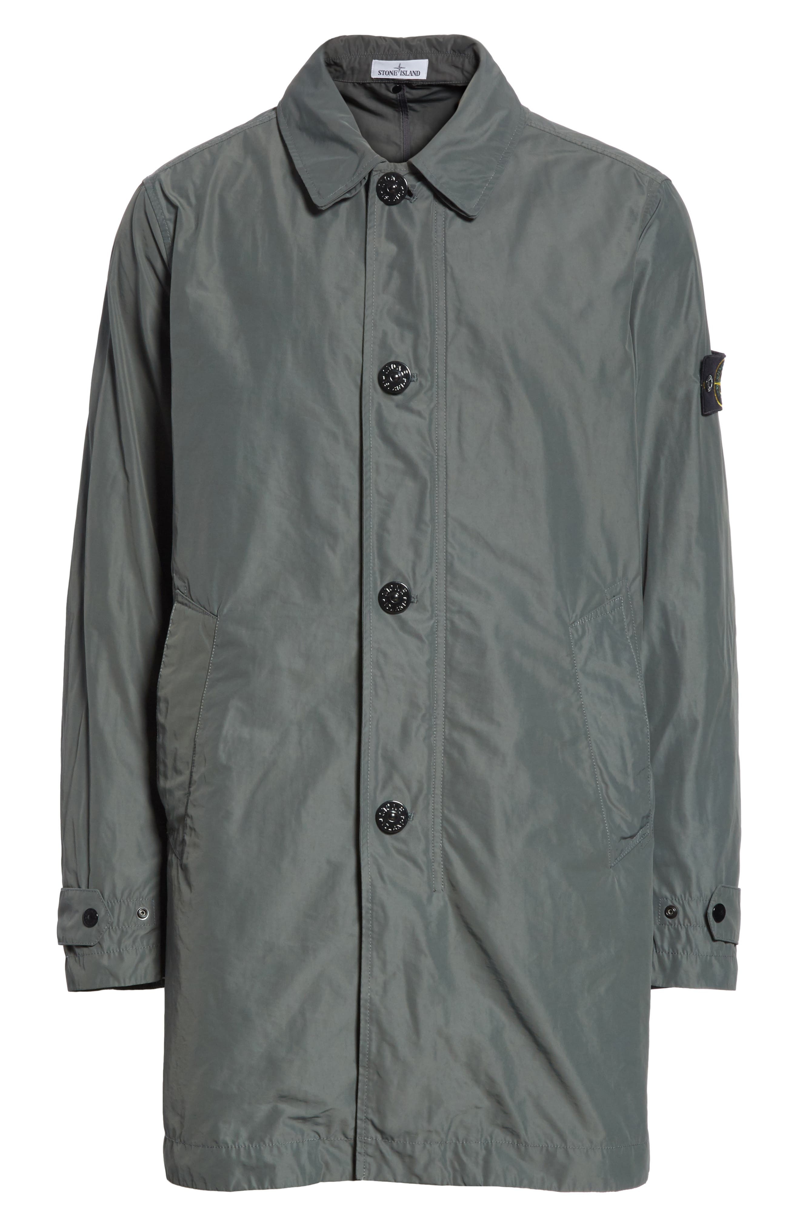 Trench Coat,                             Alternate thumbnail 6, color,                             Grey