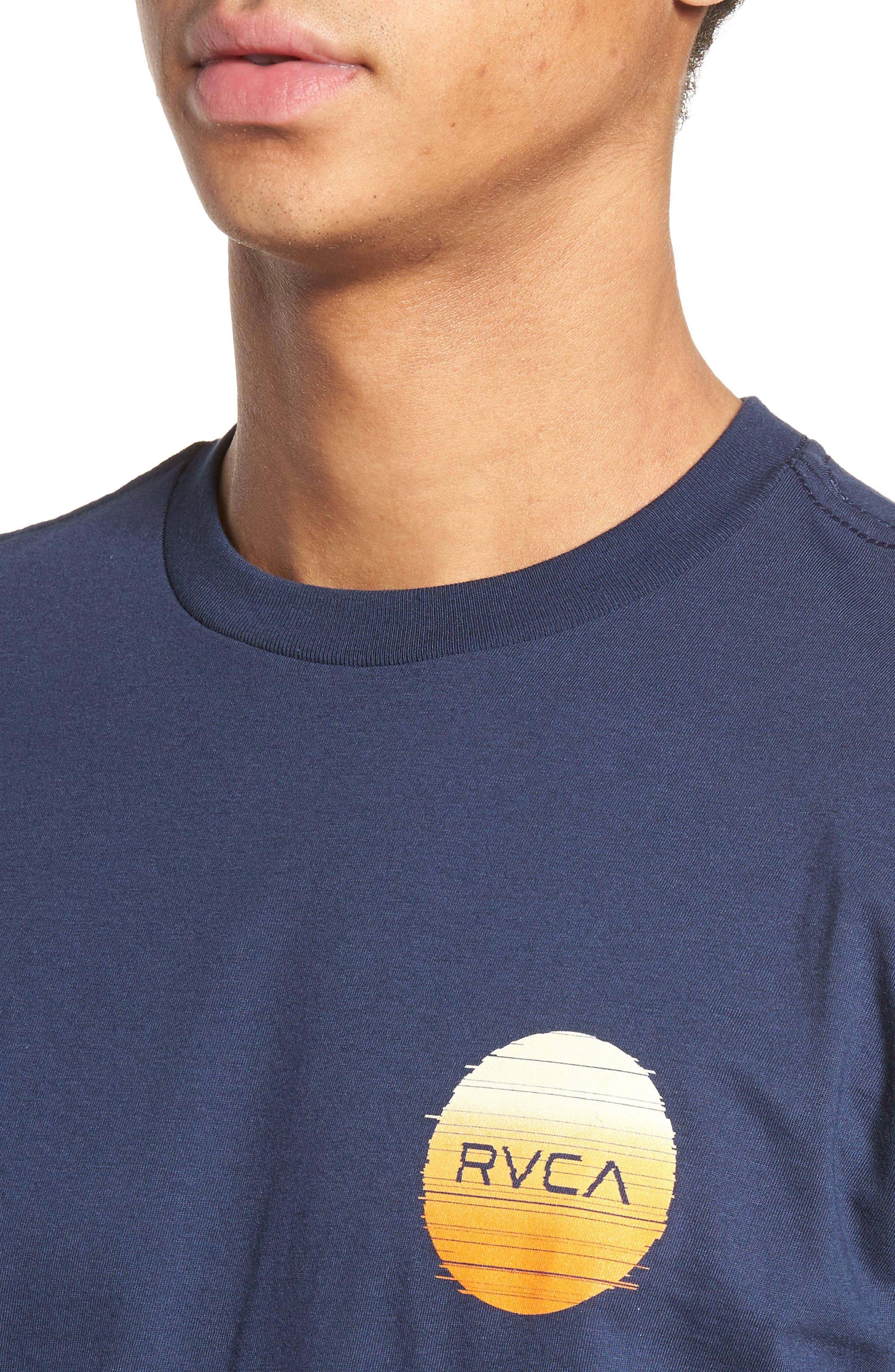 Glitch Motors T-Shirt,                             Alternate thumbnail 4, color,                             Federal Blue