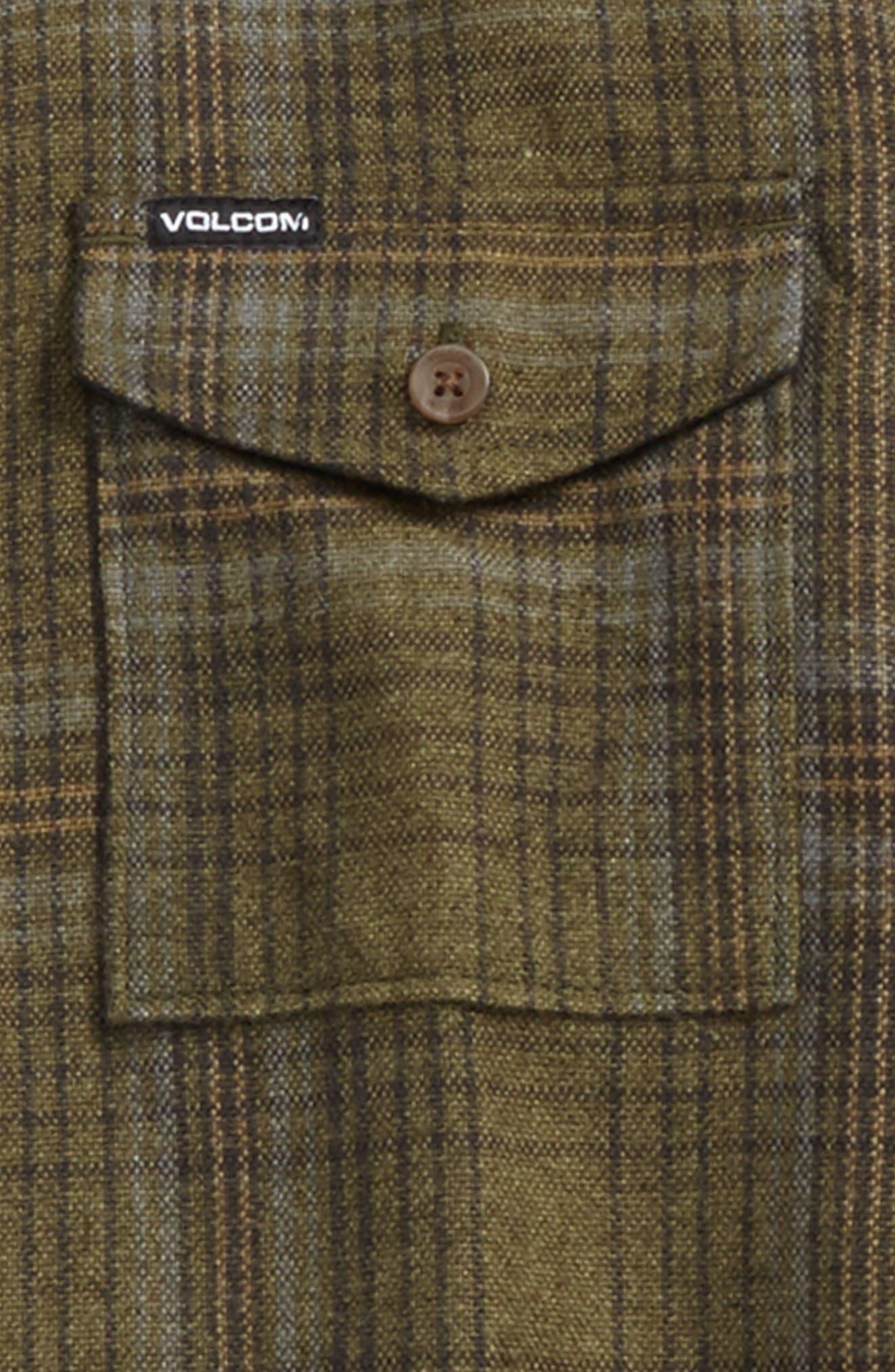 Alternate Image 2  - Volcom Bodhi Plaid Flannel (Big Boys)