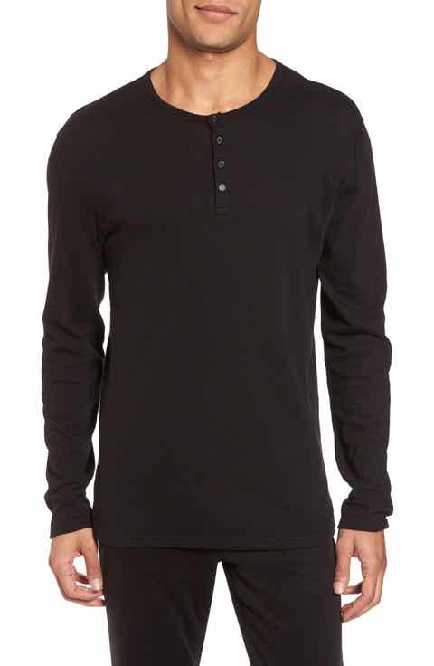 Men 39 s long sleeve henley long sleeve t shirts nordstrom for H m mens henley t shirt long sleeve