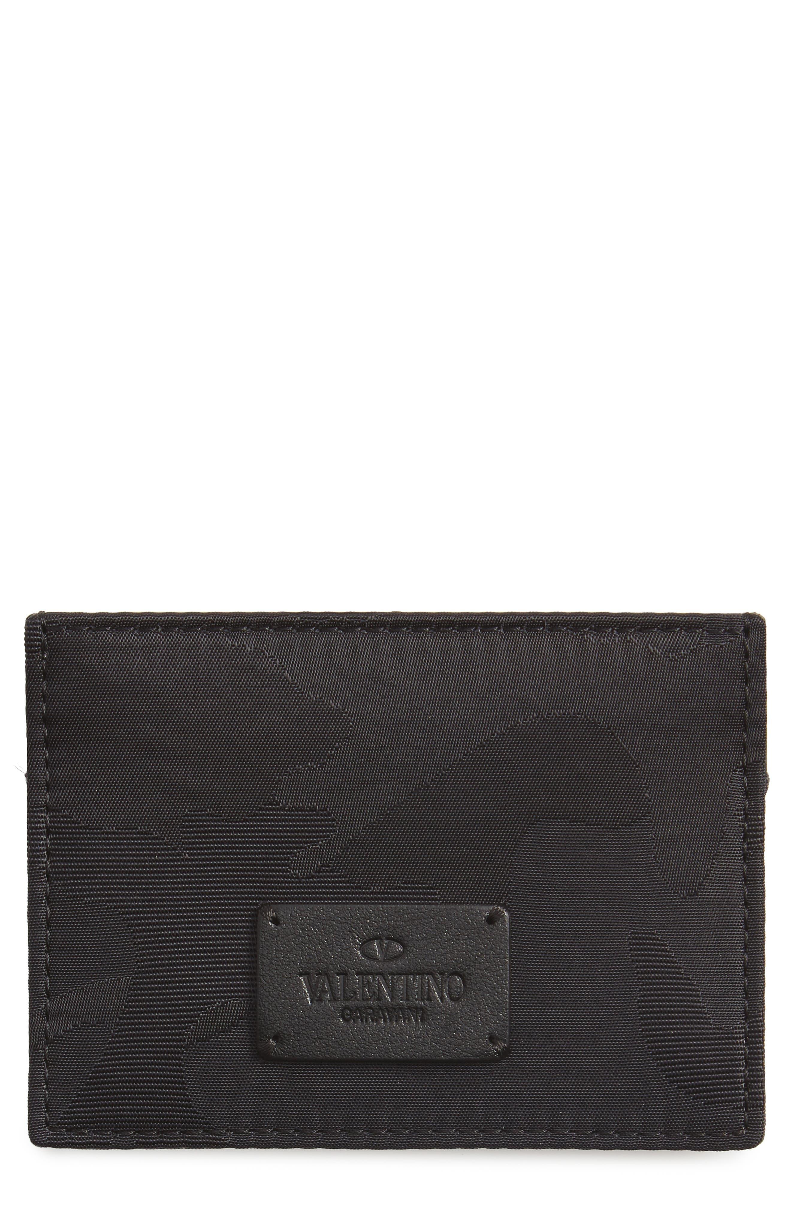 VALENTINO GARAVANI Camo Card Case