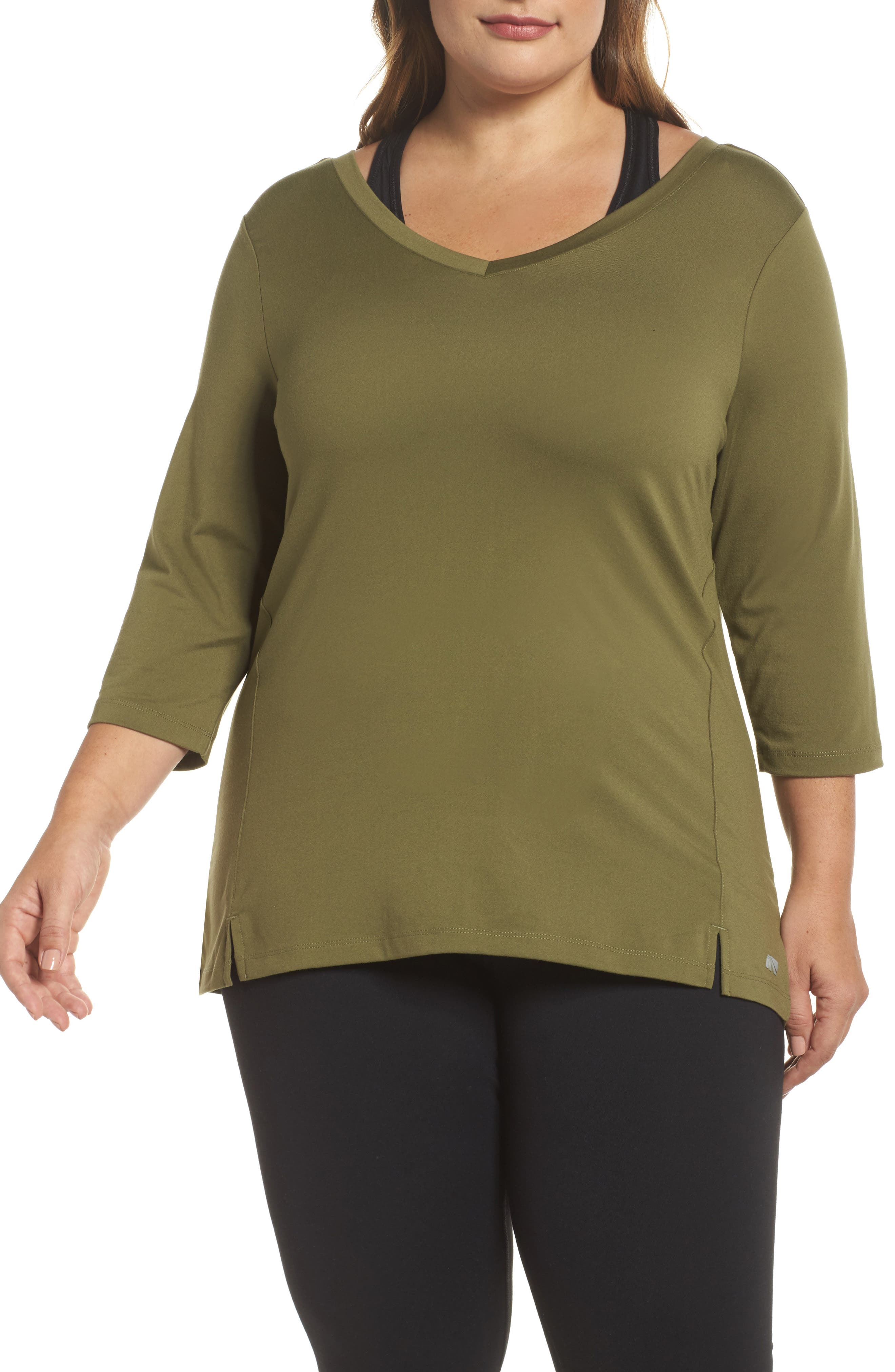 Alternate Image 1 Selected - Marika Curves Formation Top (Plus Size)