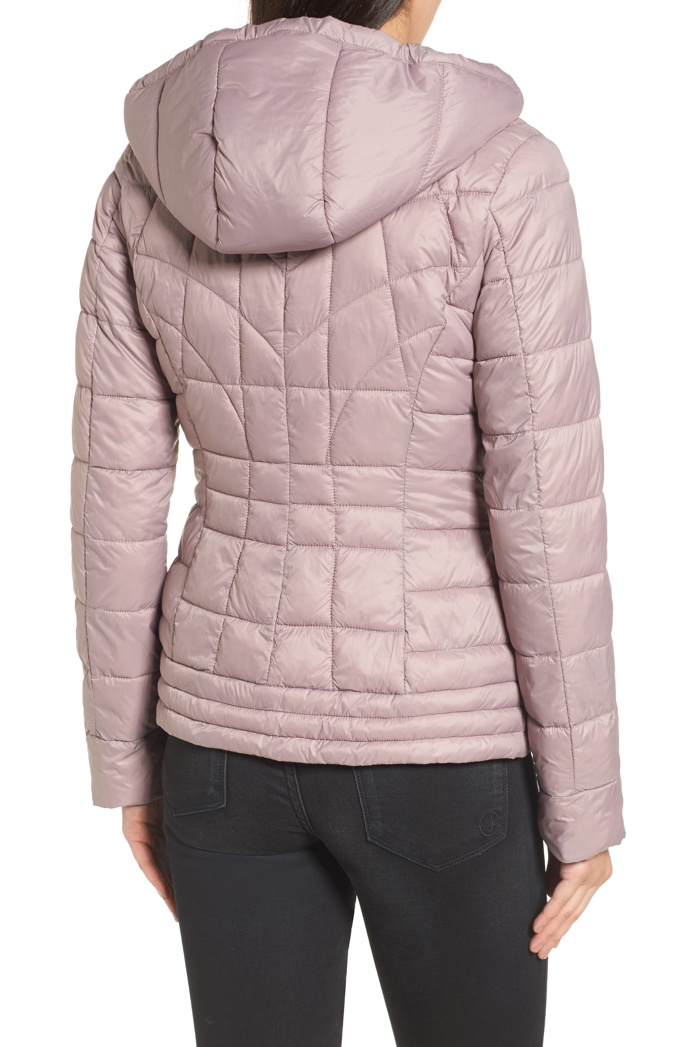 Water-Resistant PrimaLoft<sup>®</sup> Insulated Jacket,                             Alternate thumbnail 2, color,                             Rosa
