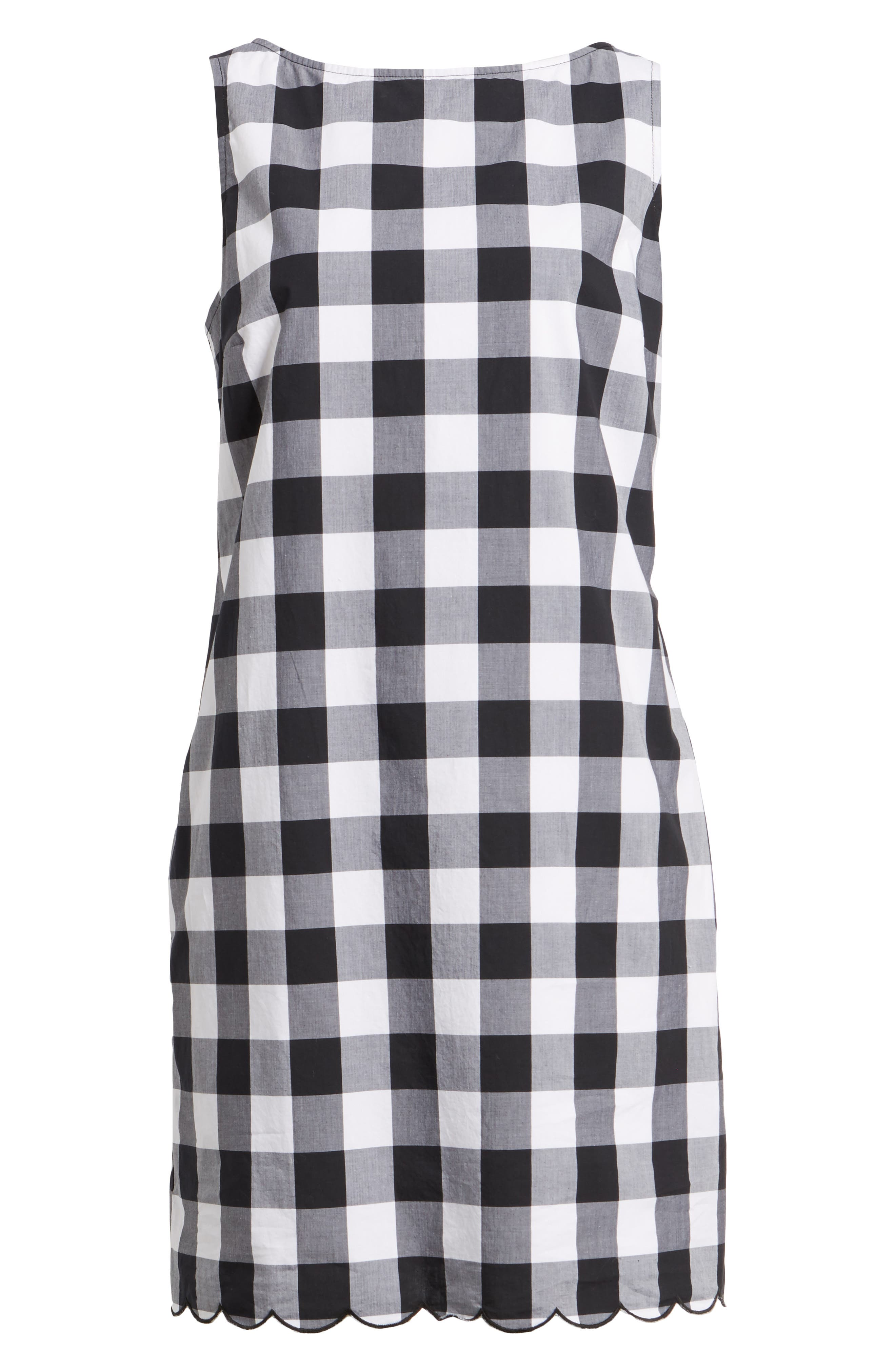 Alternate Image 6  - Tommy Bahama Gingham Gables Shift Dress