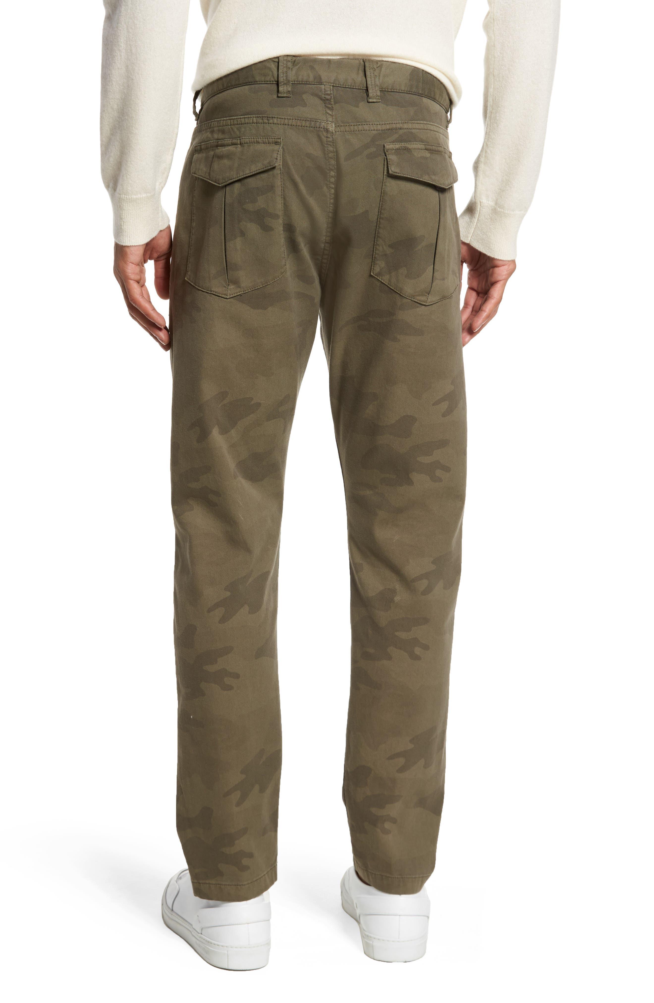 Alternate Image 2  - Eleventy Camo Fatigue Pocket Pants