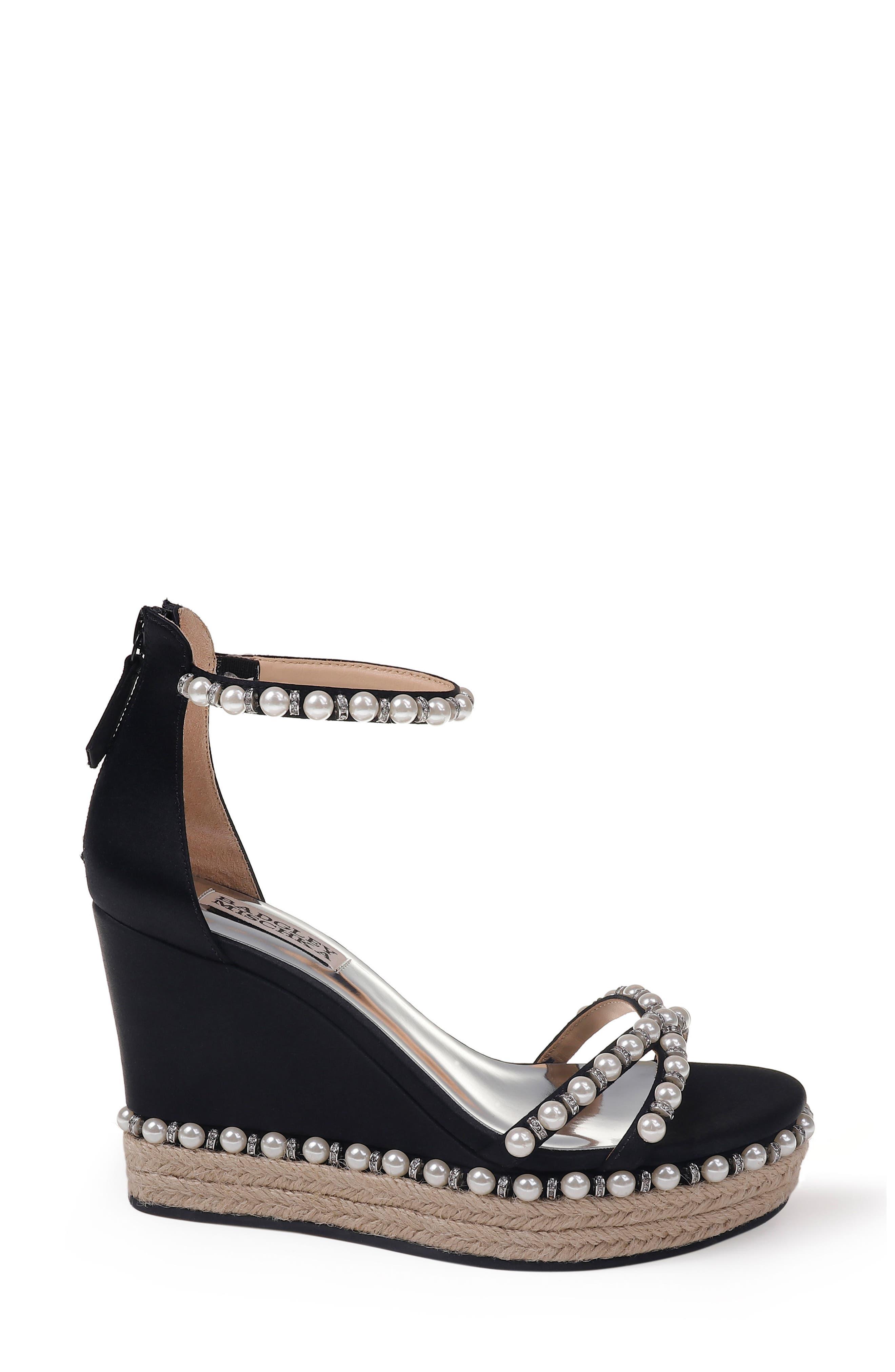 Alternate Image 3  - Badgley Mischka Sloan Wedge Sandal (Women)