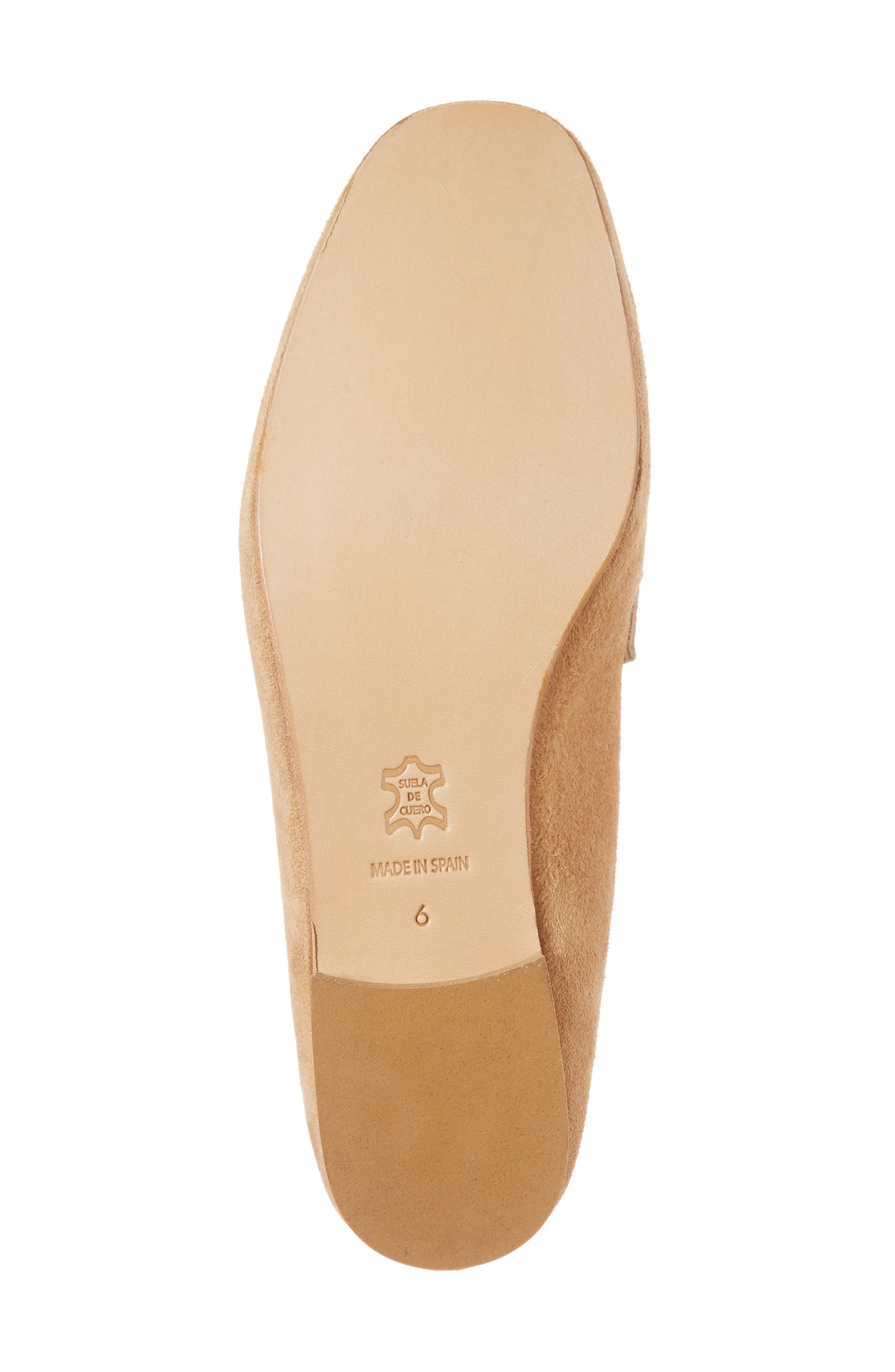Sorrento Too Mule,                             Alternate thumbnail 6, color,                             Camel Suede