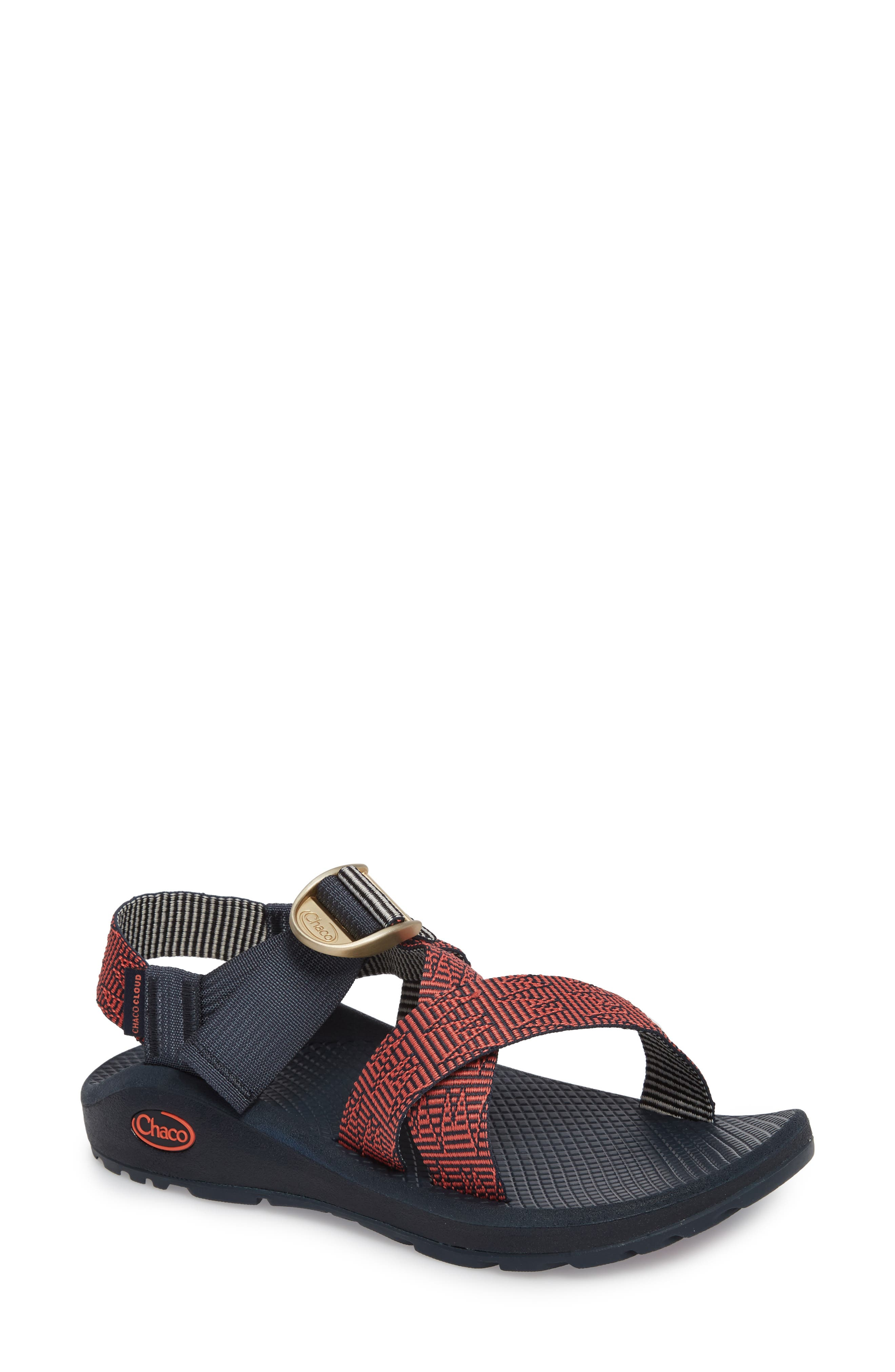 Mega Z/Cloud Sport Sandal,                             Main thumbnail 1, color,                             Blazer Navy