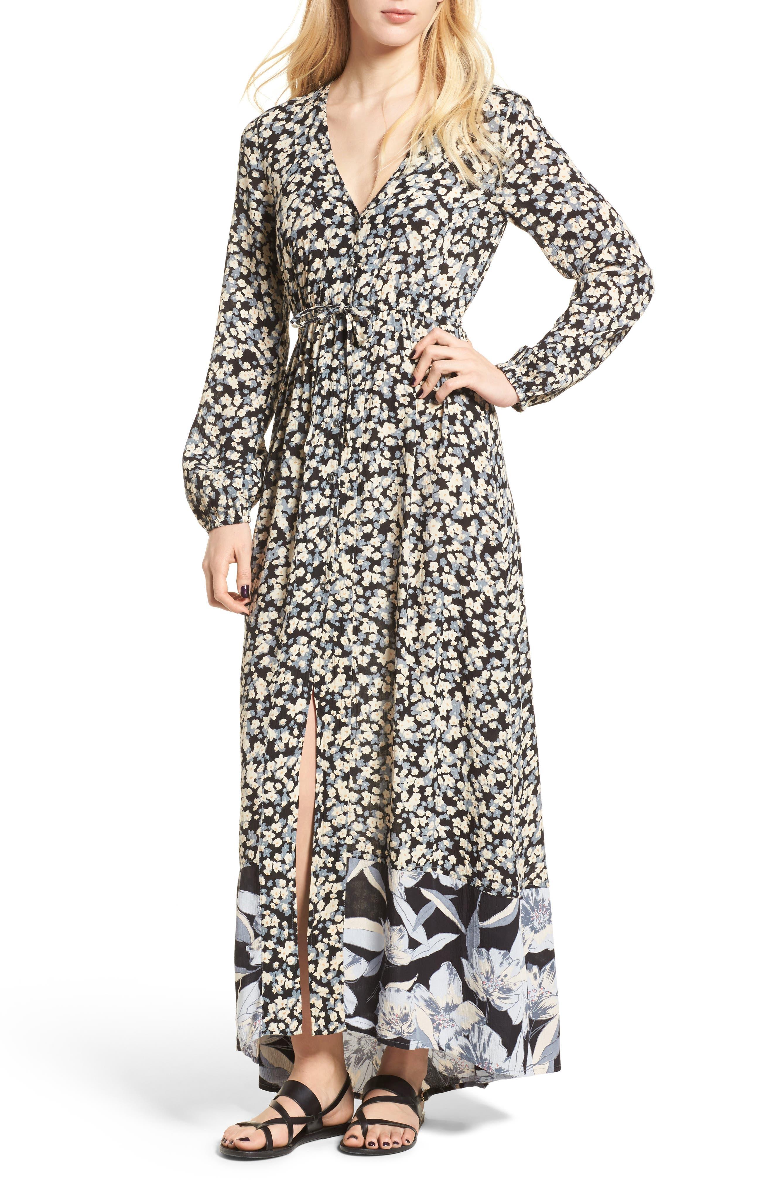 Billabong Kimono Maxi Dress