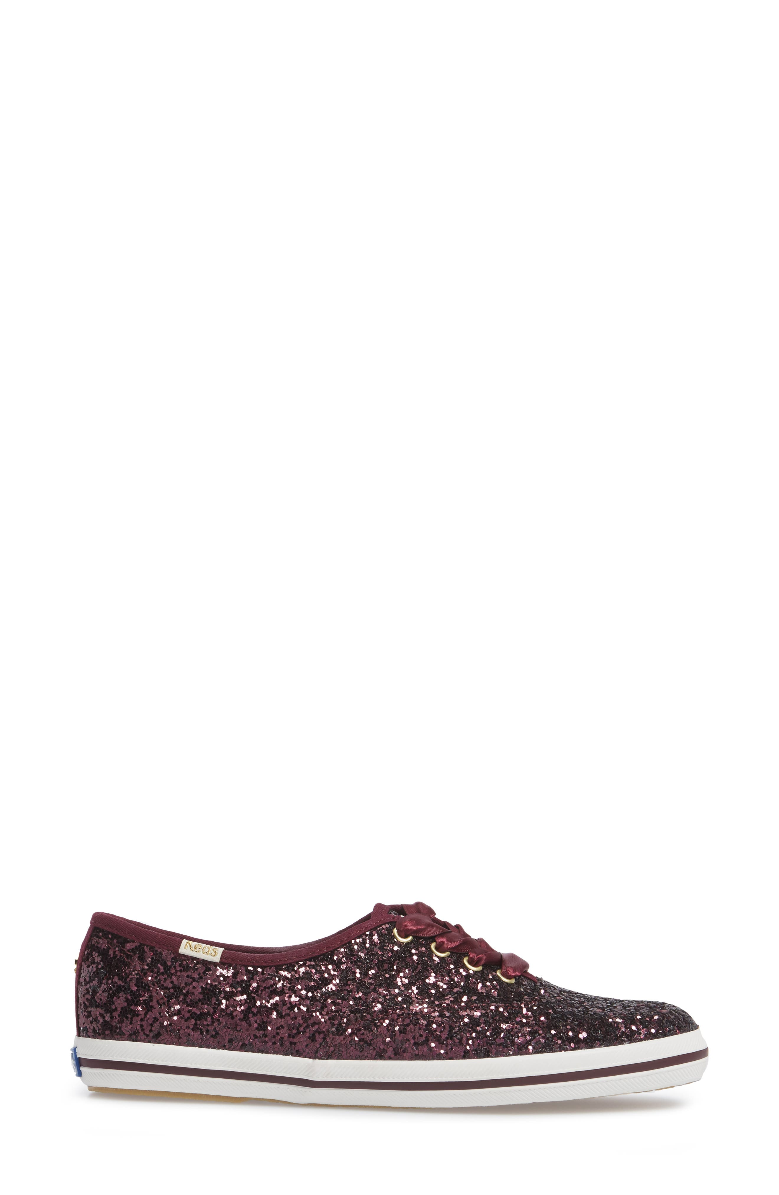 Alternate Image 3  - Keds® for kate spade new york glitter sneaker (Women)