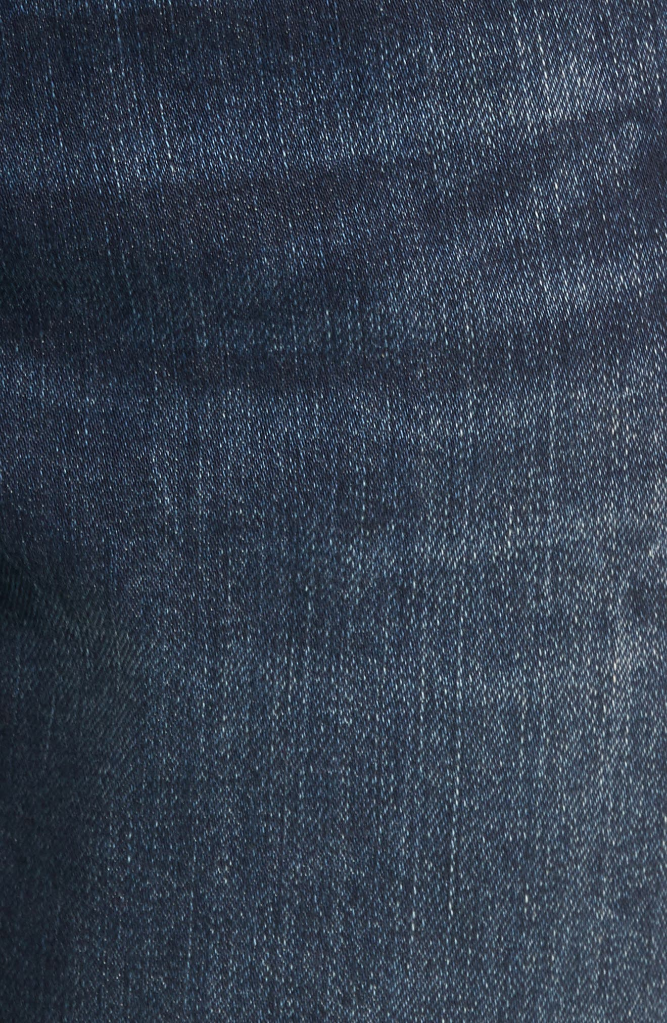 Myles Straight Leg Jeans,                             Alternate thumbnail 5, color,                             Deep Brooklyn