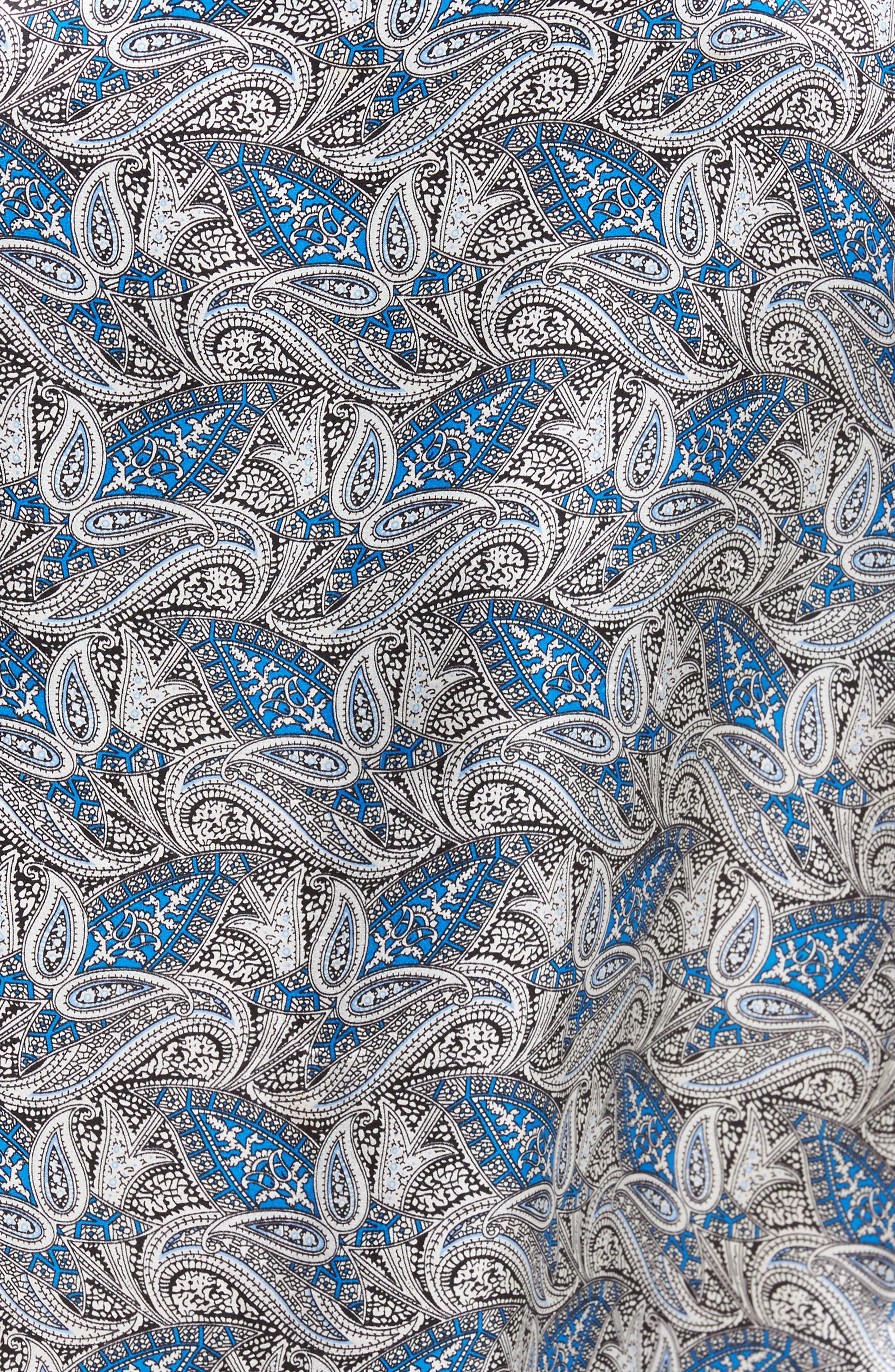 Alternate Image 5  - Majestic International 'Cypress' Silk Dot Robe
