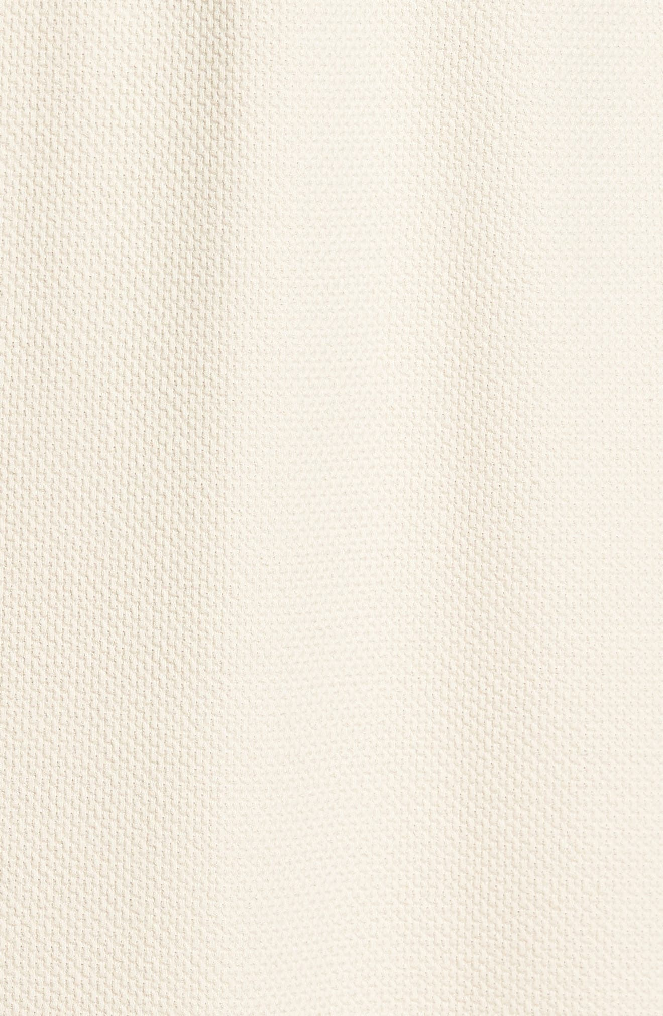 Belize Cotton Blend Robe,                             Alternate thumbnail 5, color,                             Ecru