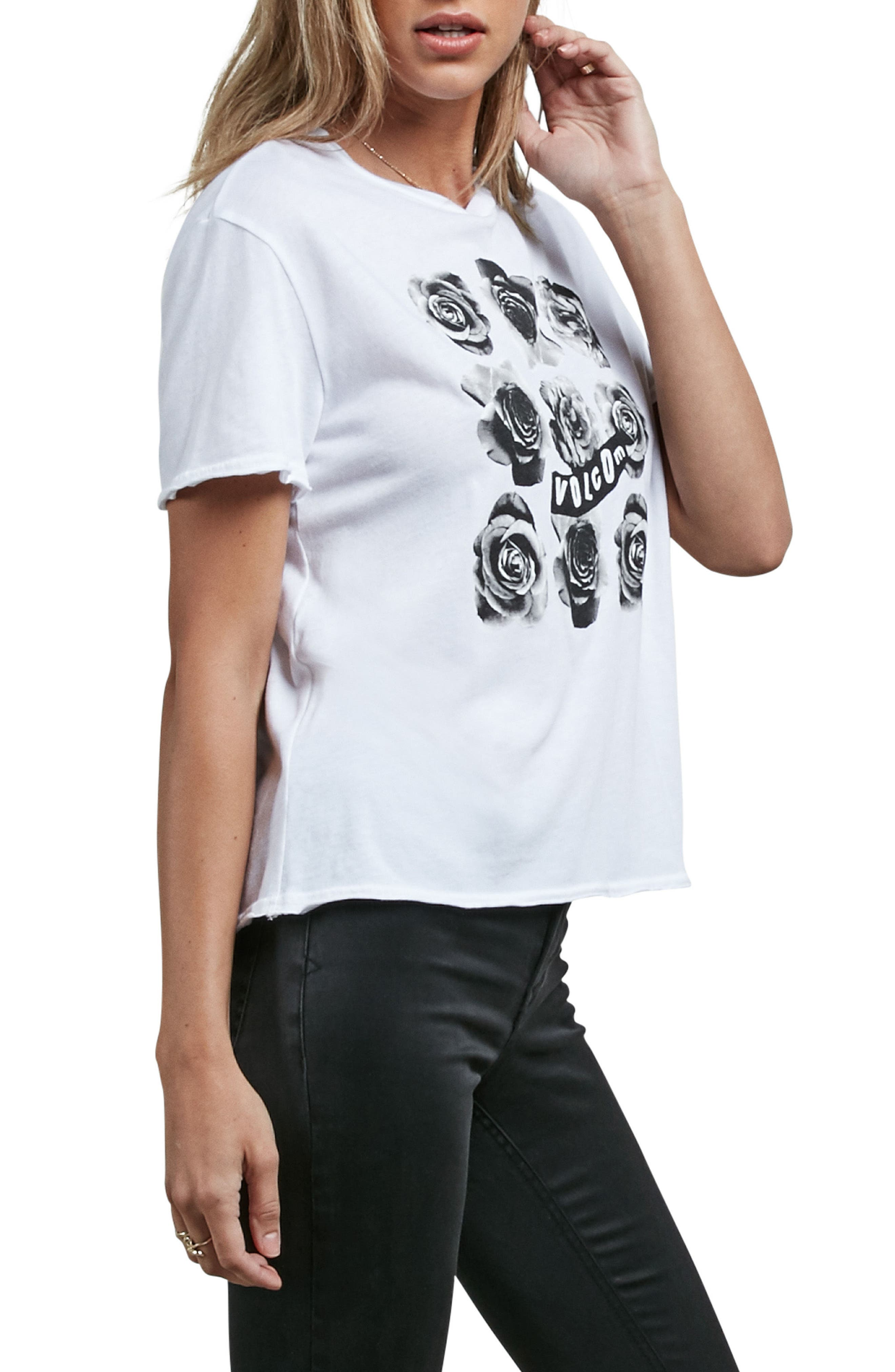Main Stage Graphic Tee,                             Alternate thumbnail 3, color,                             White