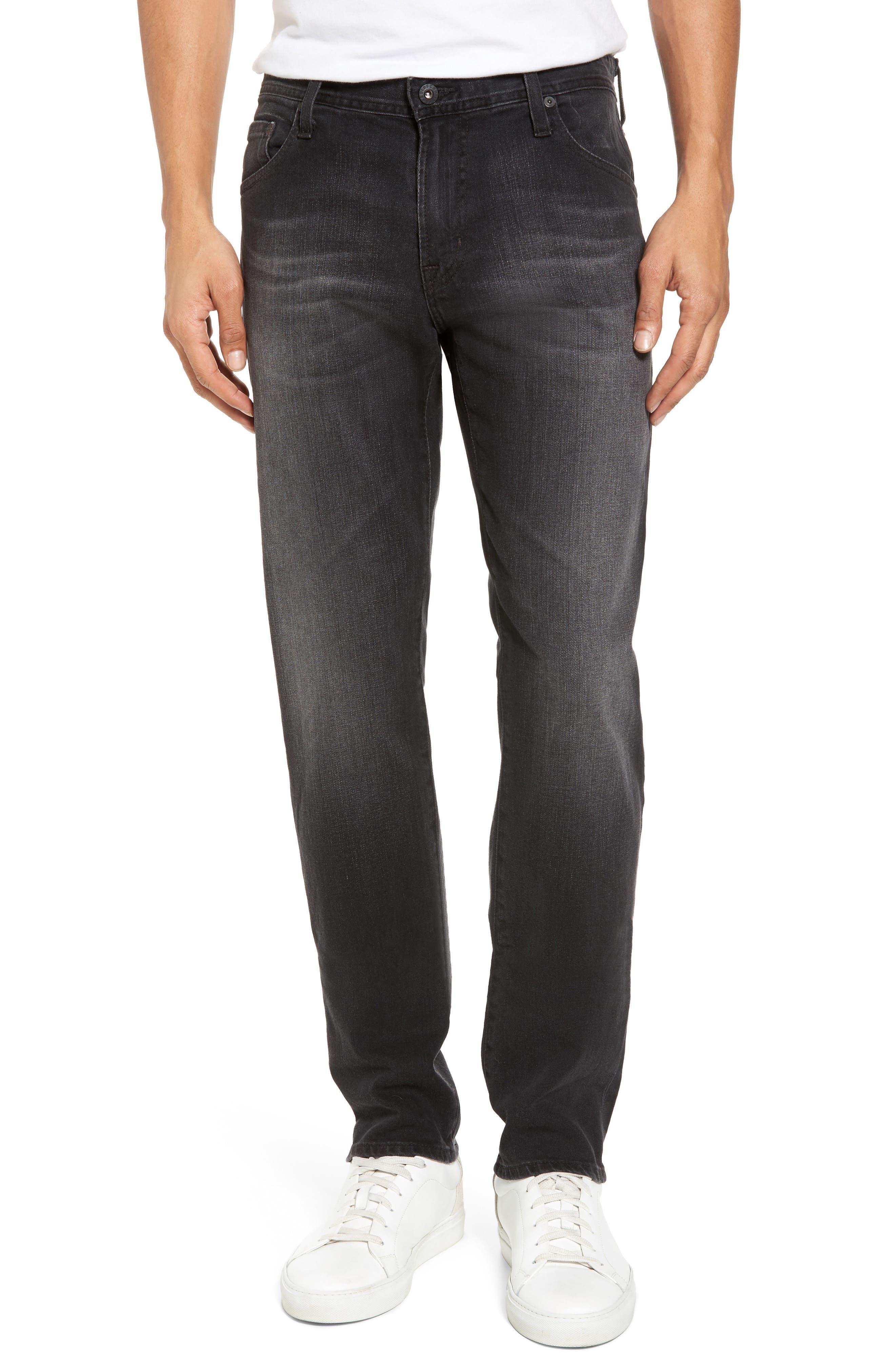AG Tellis Modern Slim Fit Jeans (Smudged Black)
