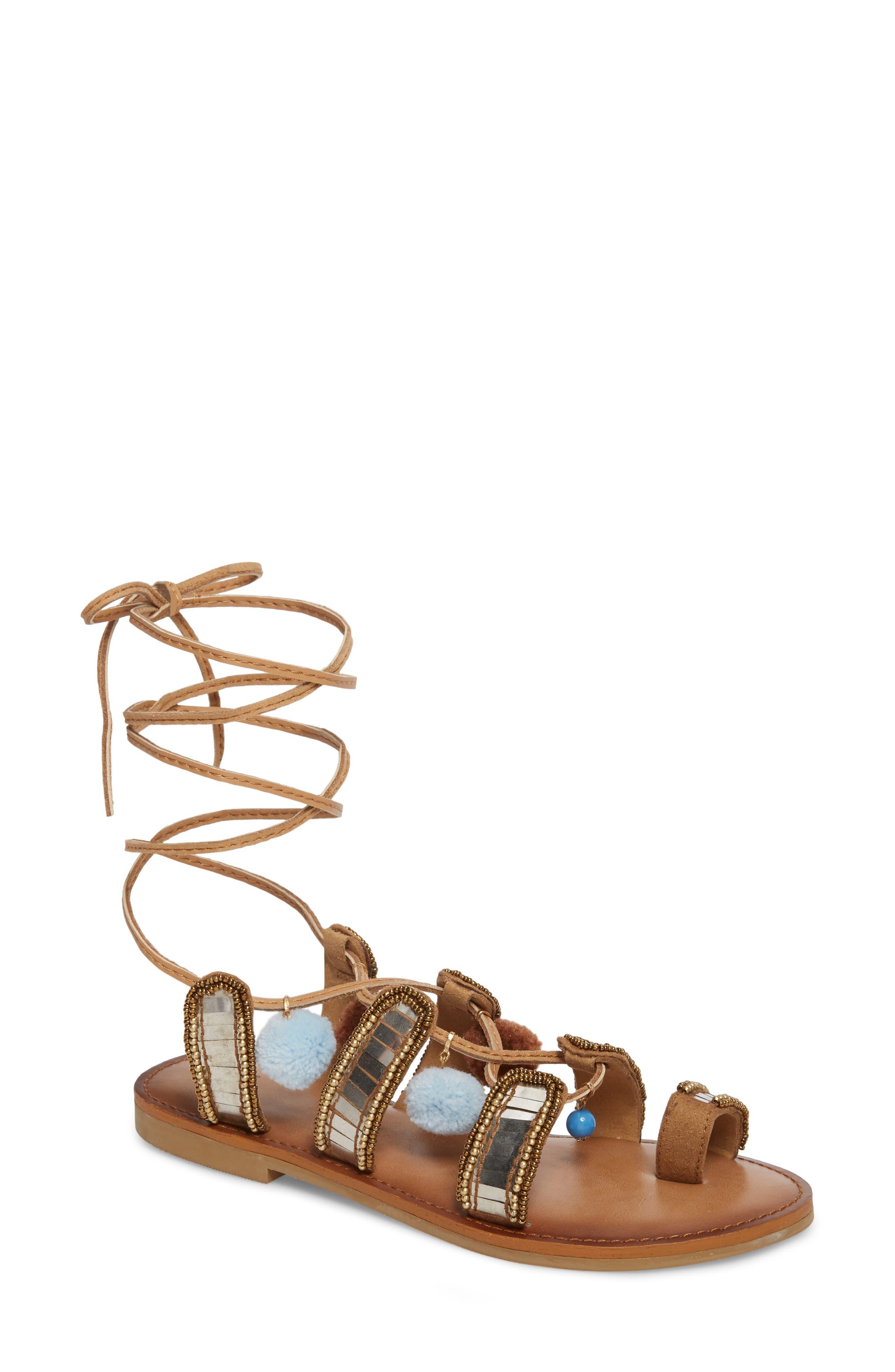 BP. Bassie Ankle Strap Sandal (Women)