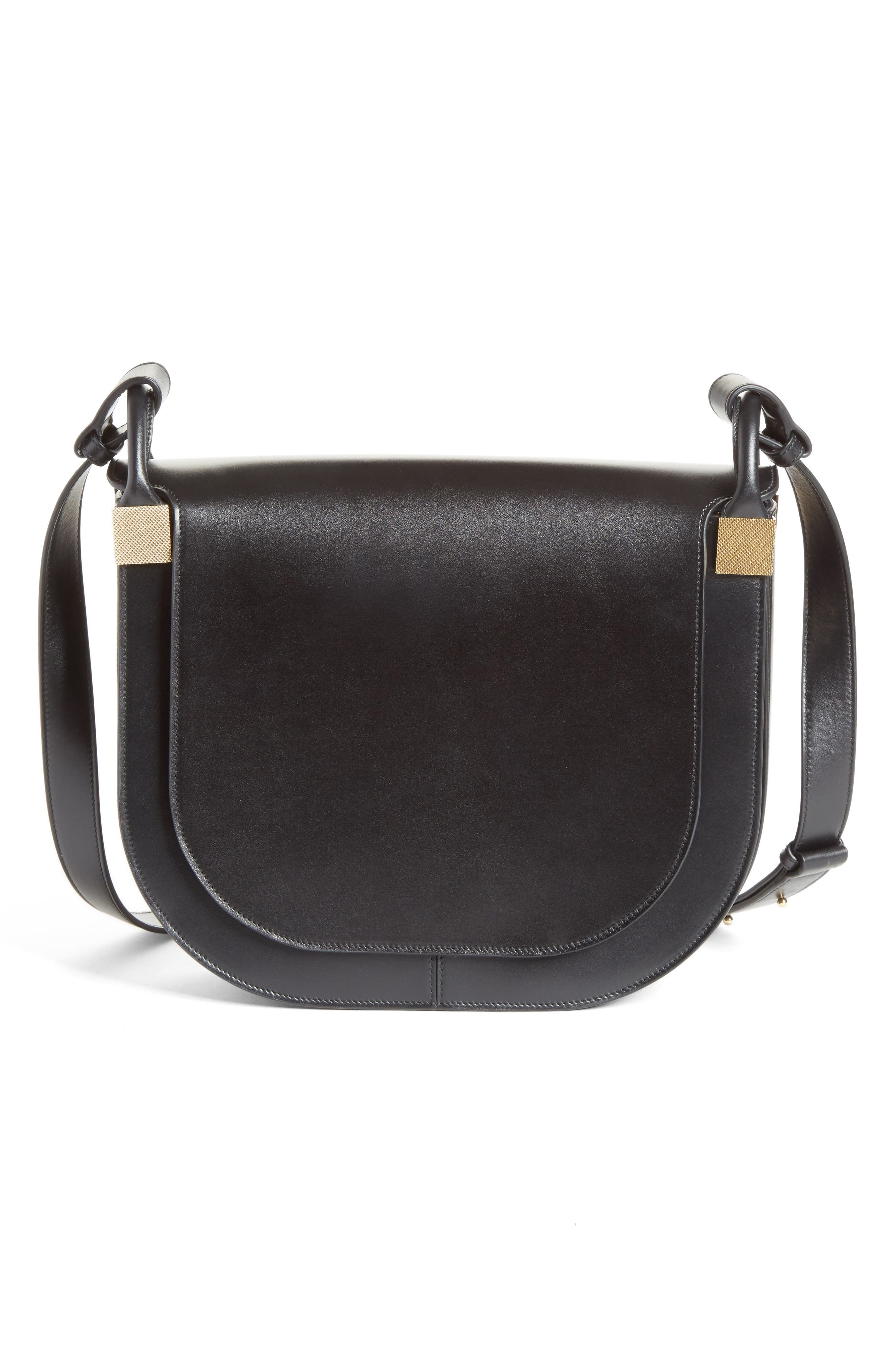 Victoria Beckham Half Moon Box Crossbody Bag