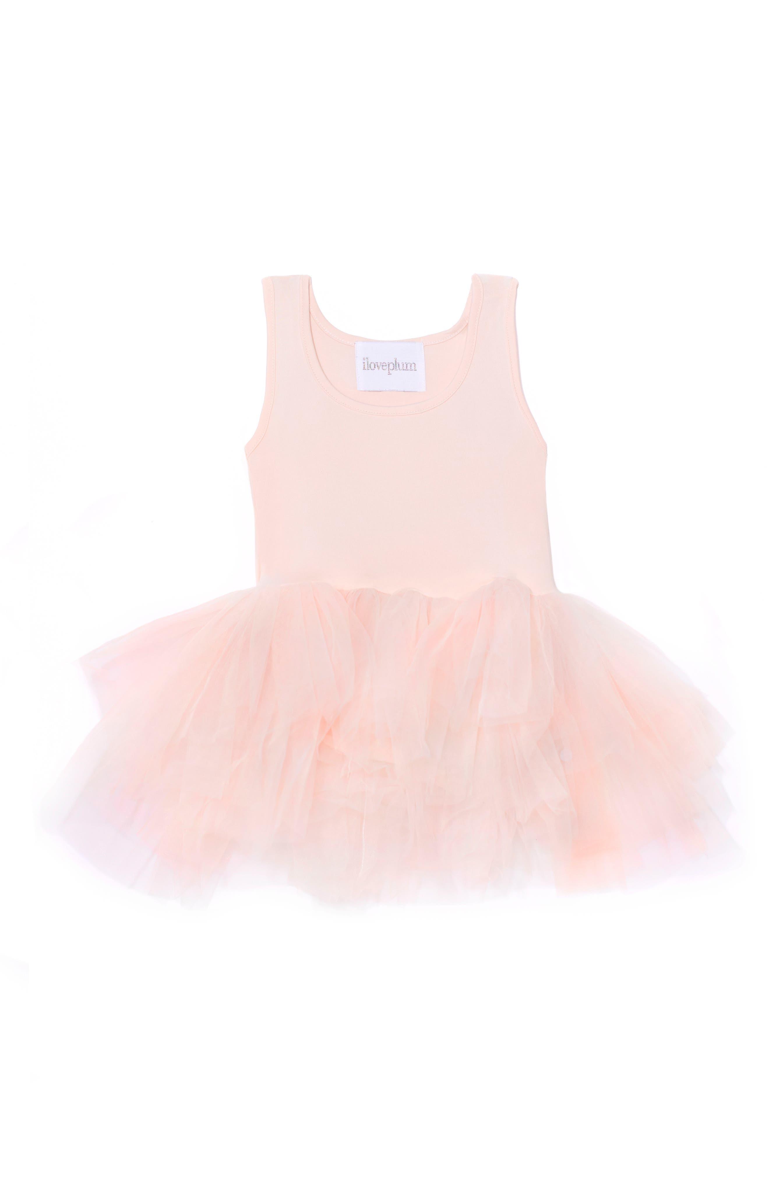 Tutu Dress,                         Main,                         color, Light Pink