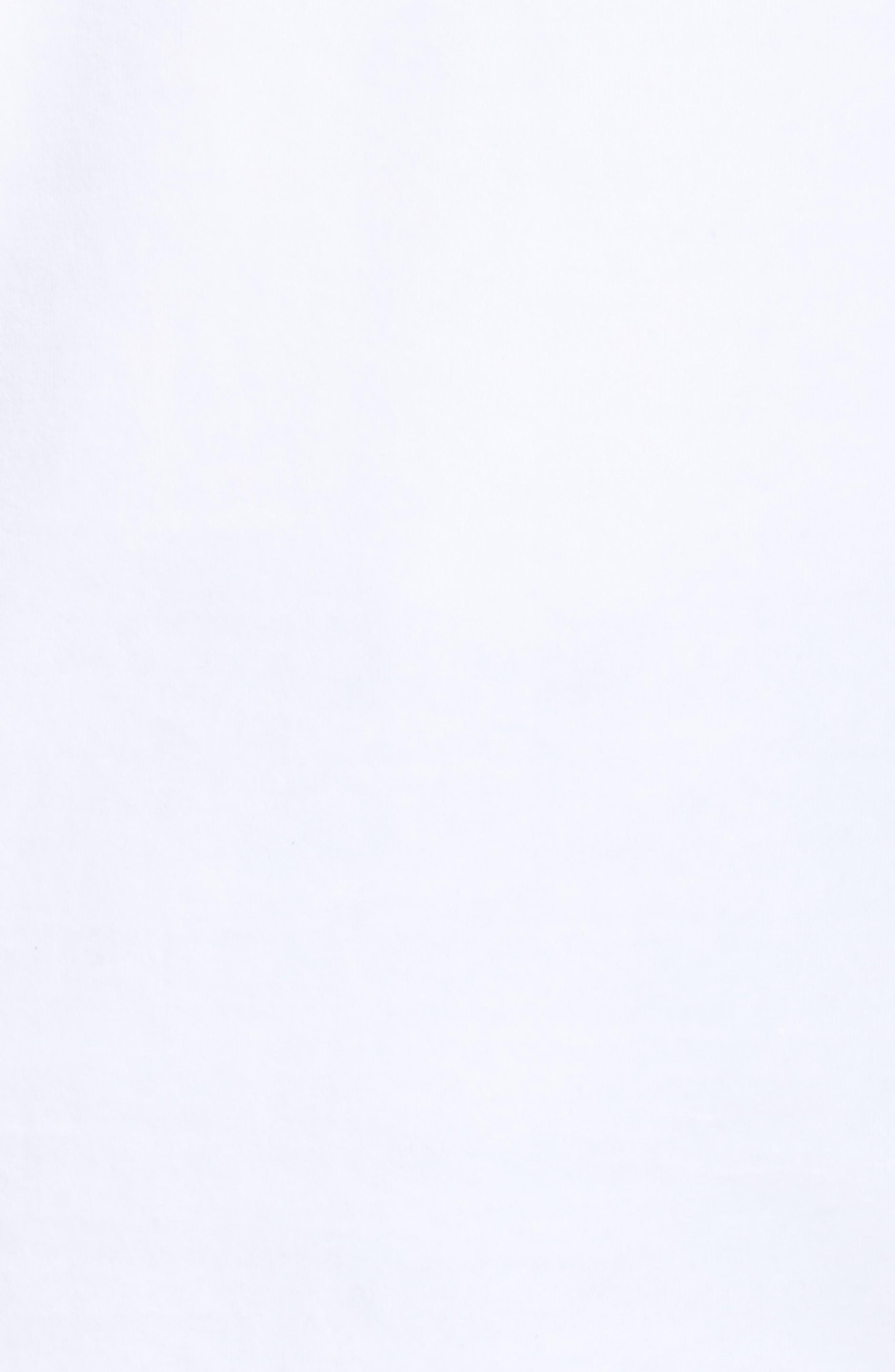 Velour Logo Tee,                             Alternate thumbnail 6, color,                             White